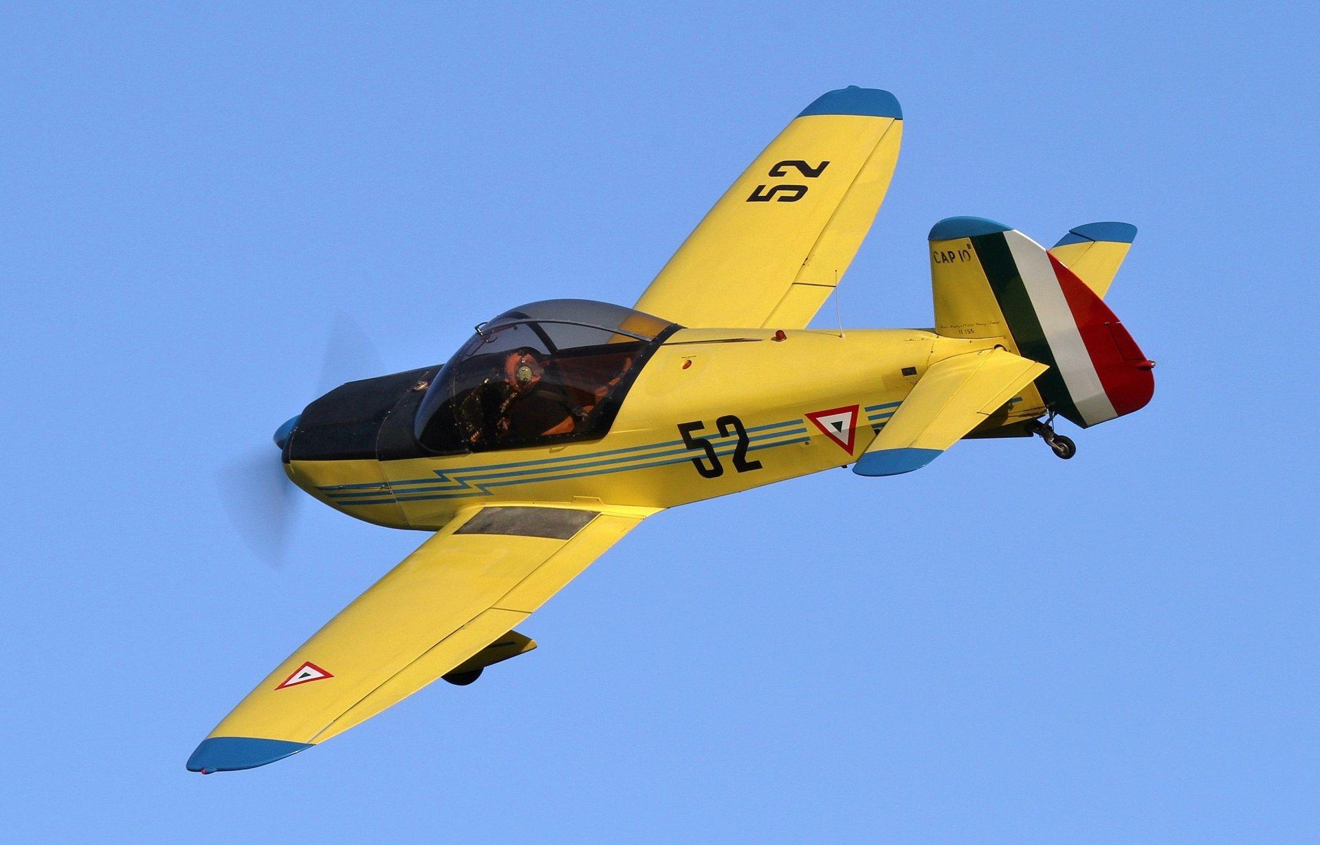Обои учебно-тренировочный, двухместный, cap 10 b. Авиация foto 7