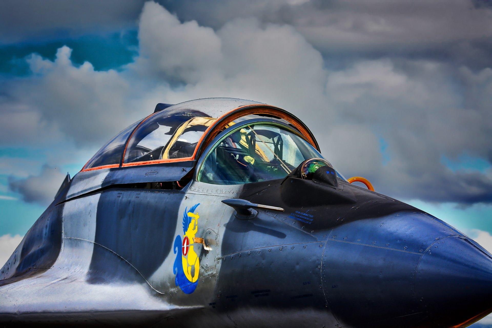 Обои Миг-29а, многоцелевой, истребитель, fulcrum. Авиация foto 9