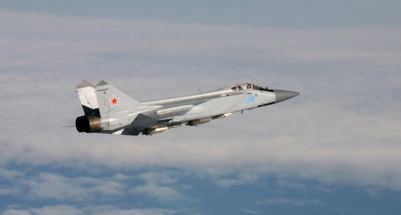 Обои ввс, миг-31, перехватчик, россии, истребитель, Самолёт. Авиация foto 8