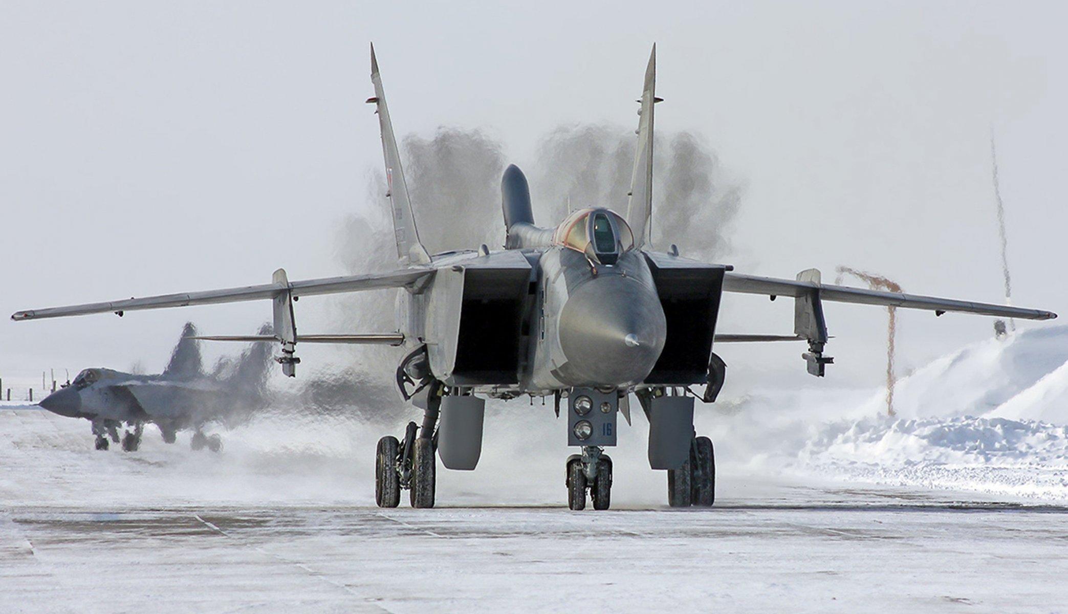 Обои миг-31, ввс, Микоян и гуревич, перехватчик, истребитель. Авиация foto 12