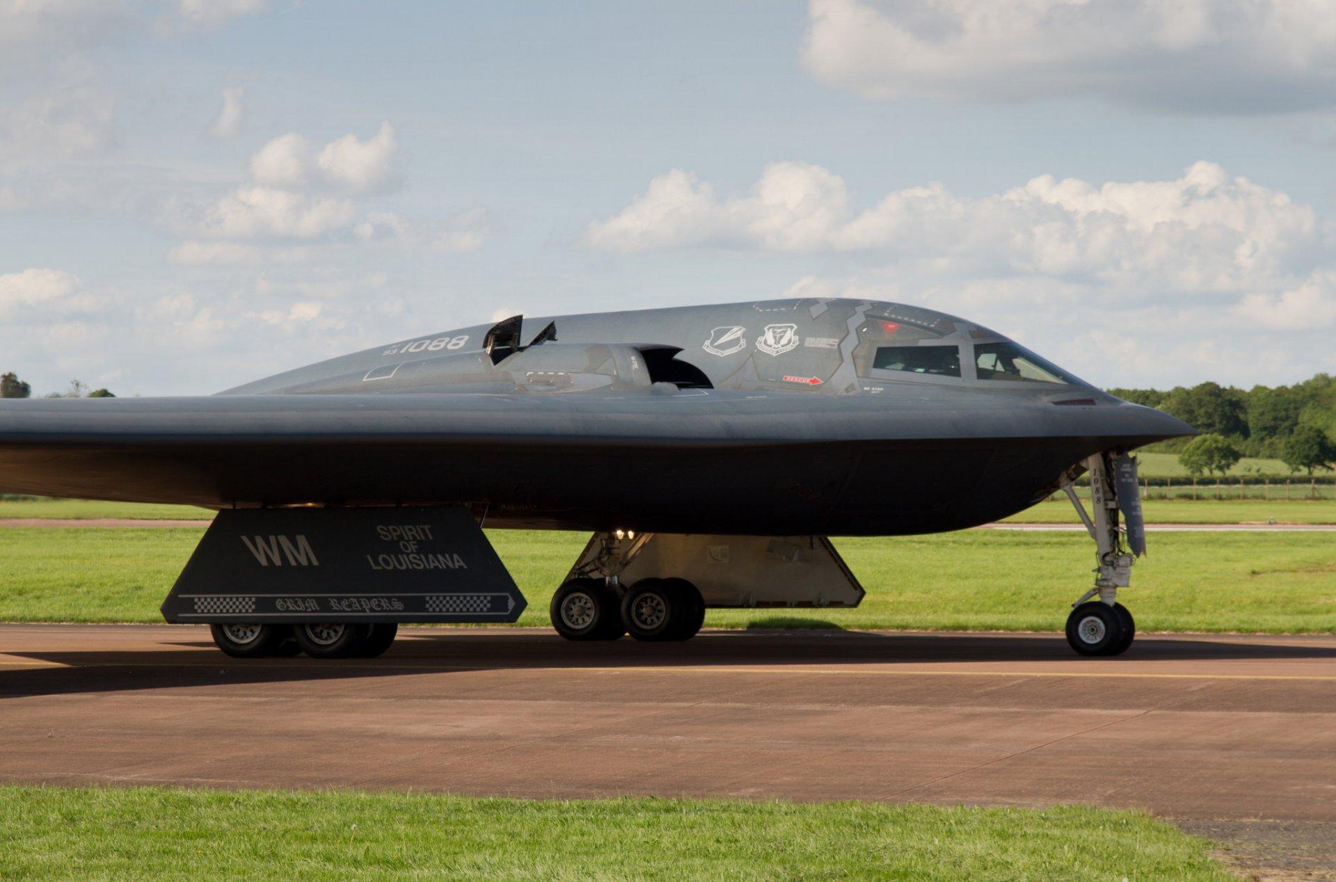 Обои B-2a, стратегический, бомбардировщик. Авиация foto 9