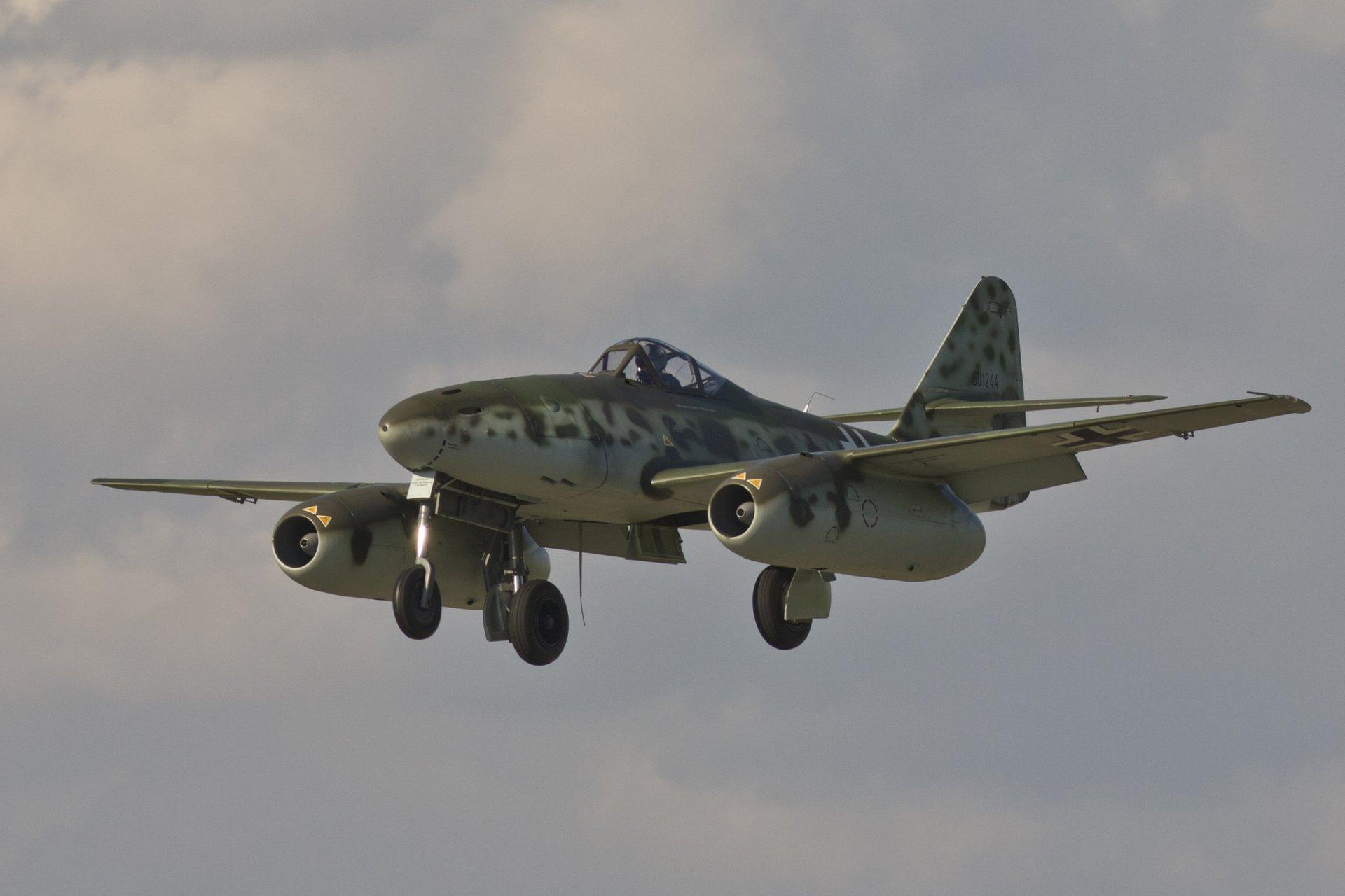 Обои реактивный, me.262, истребитель, бомбардировщик. Авиация foto 7
