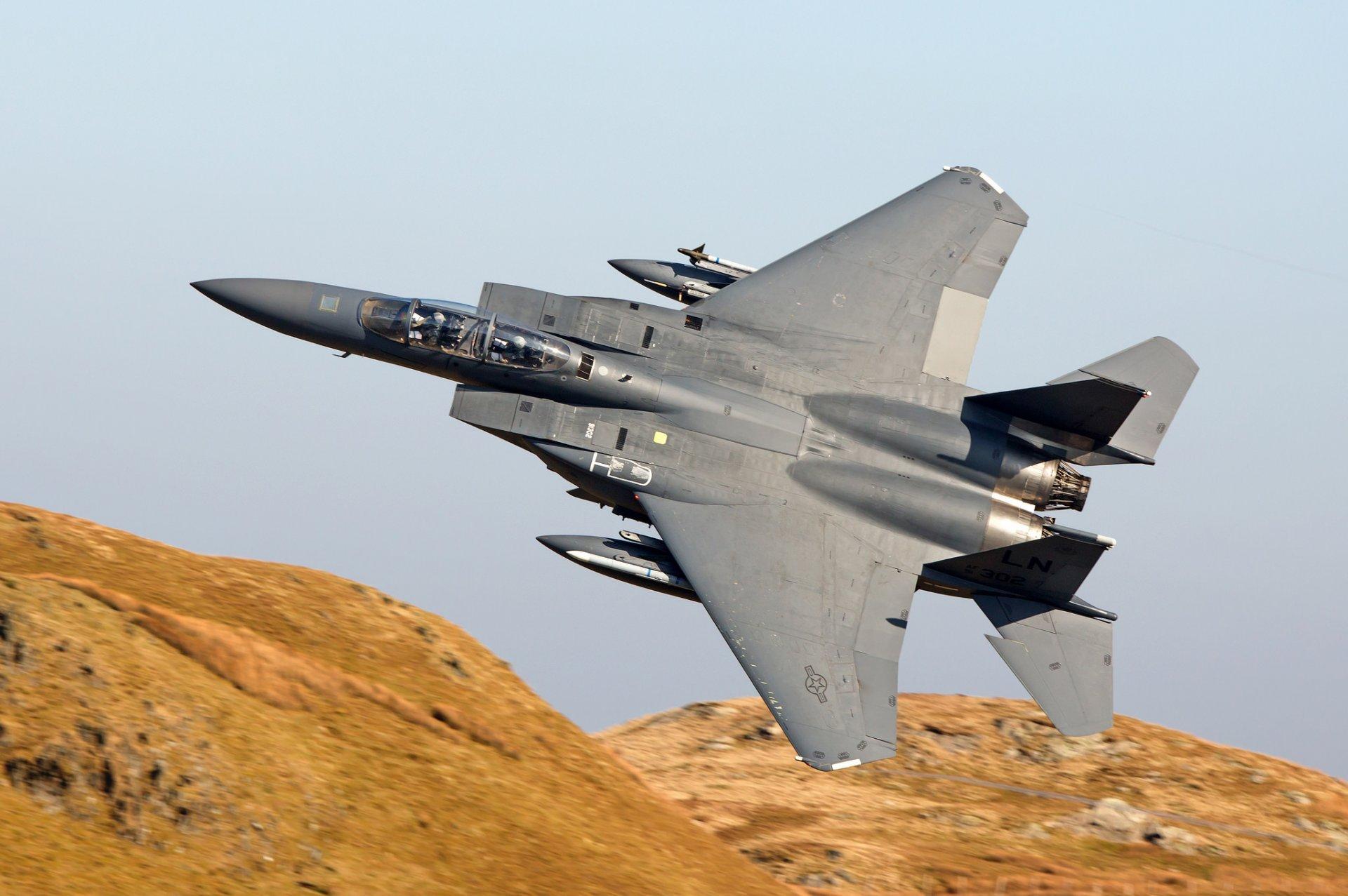 Обои Mcdonnell douglas, истребитель, Самолёт, eagle, Облака. Авиация foto 15