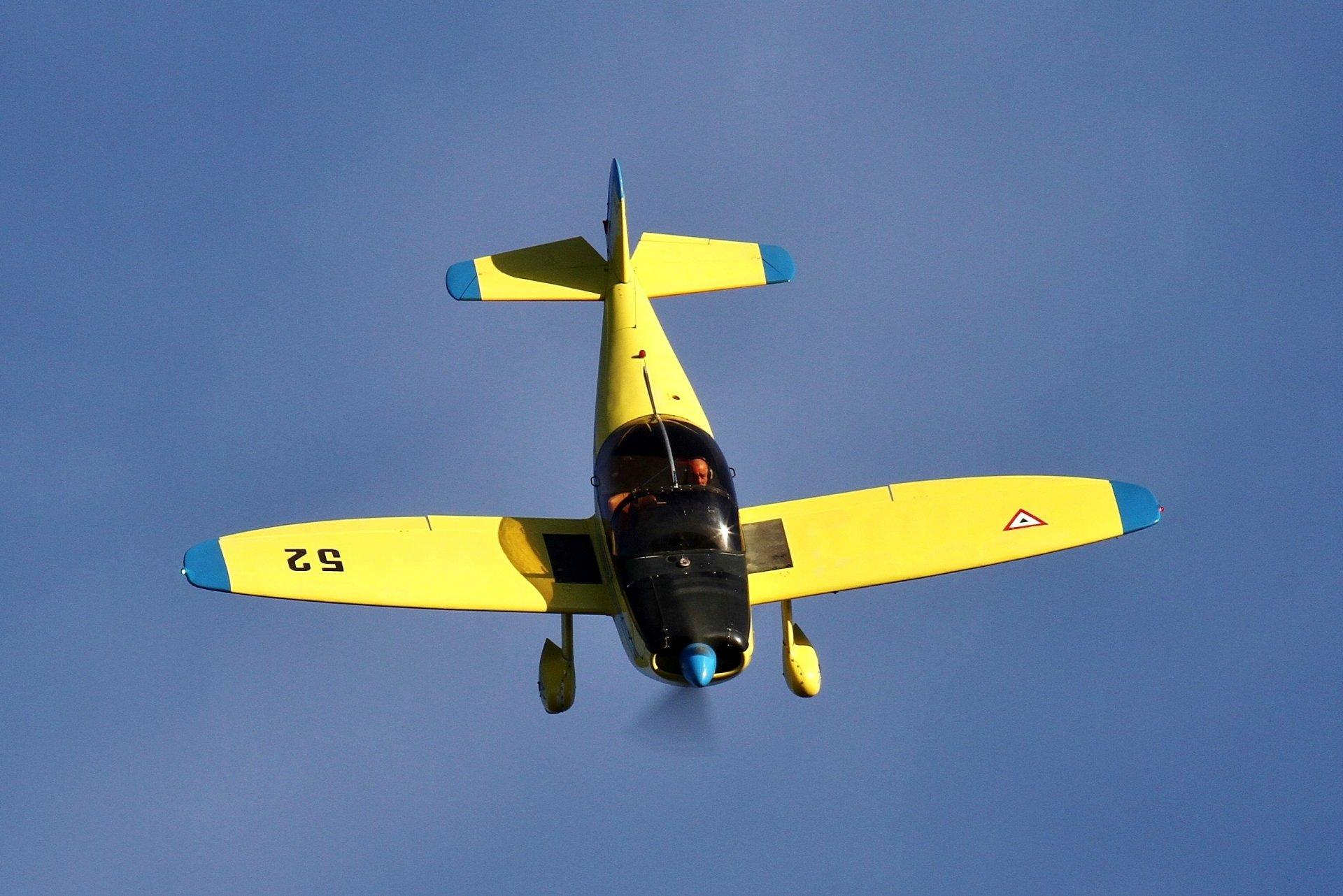 Обои учебно-тренировочный, двухместный, cap 10 b. Авиация foto 6