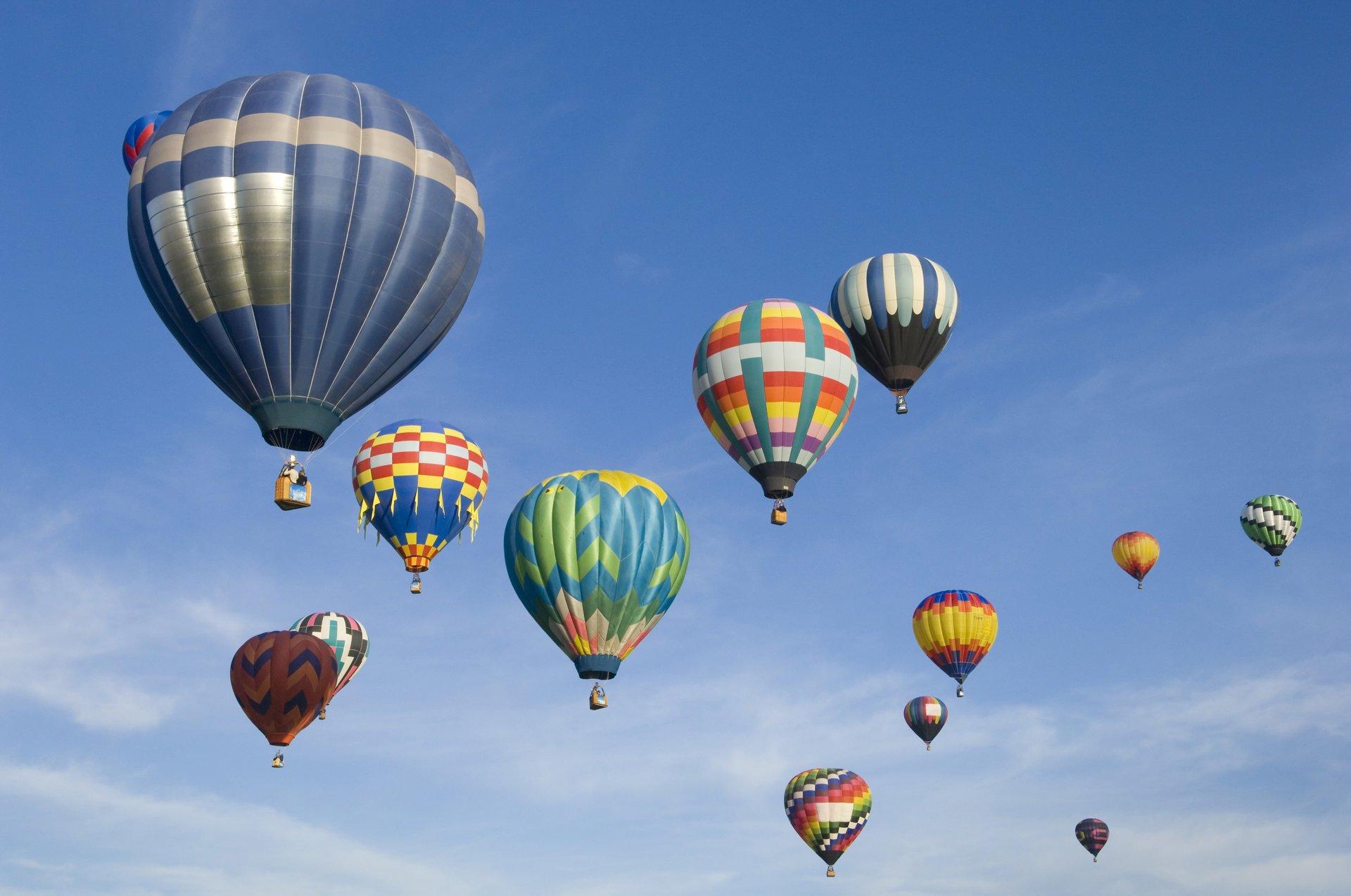 Обои воздушный шар, корзина. Авиация foto 9