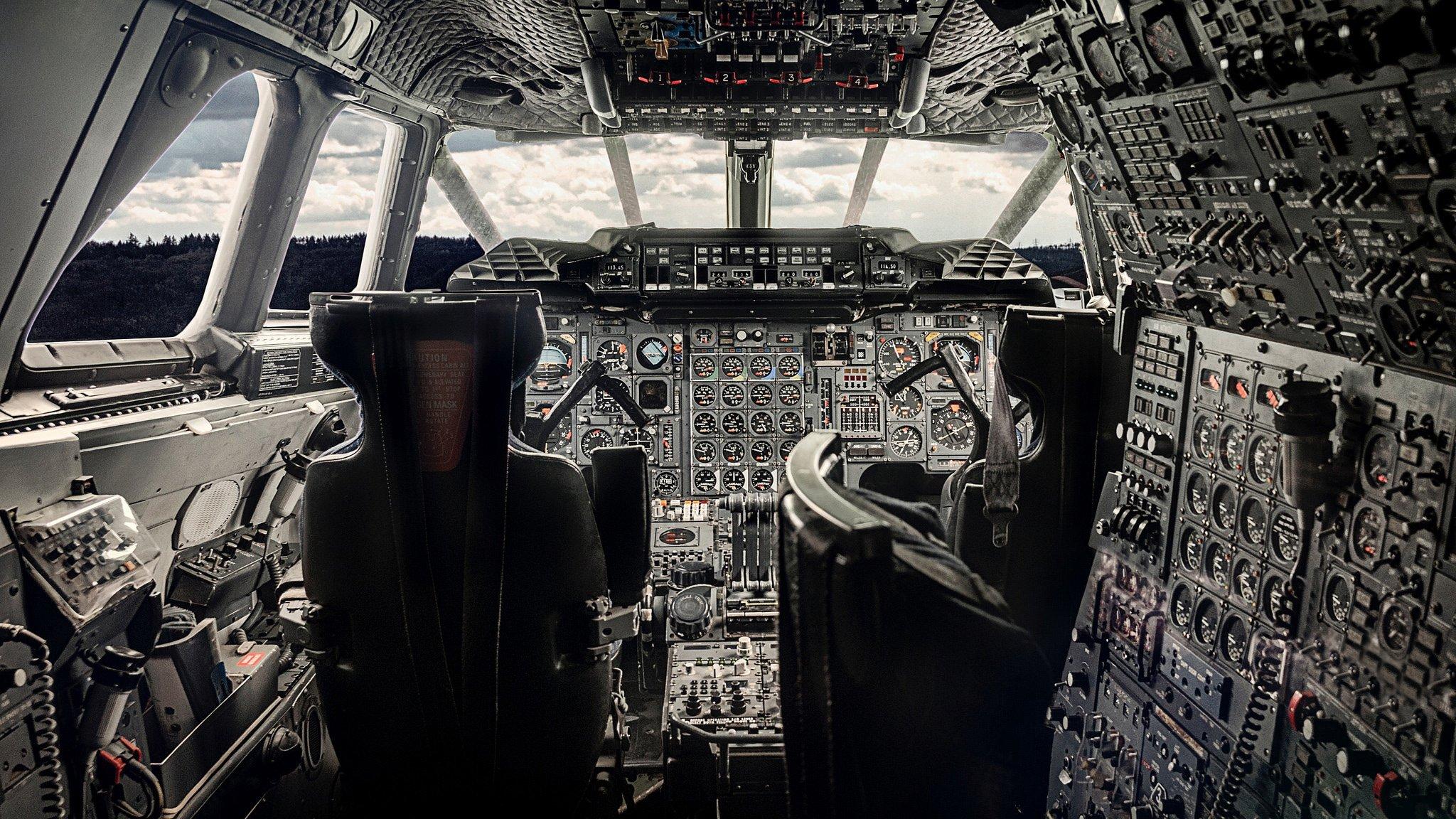 Обои кабина, многоцелевой истребитель, приборы. Авиация foto 7