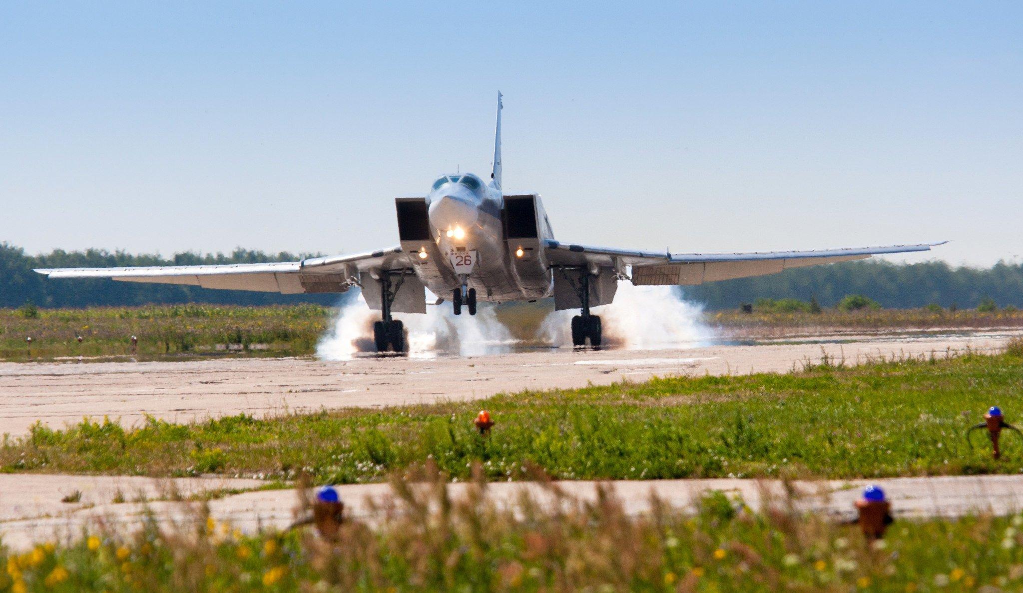 Обои Ту-22м3, сверхзвуковой, ракетоносец-бомбардировщик. Авиация foto 12
