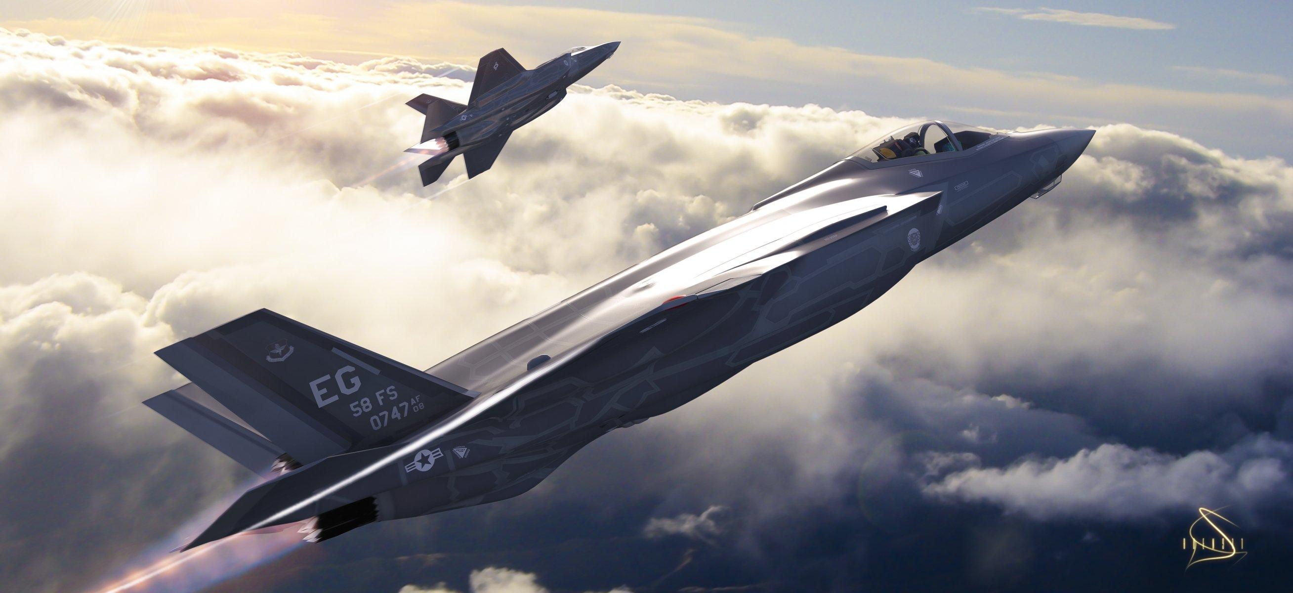 Обои истребитель, бомбардировщик, F-35, lightning ii. Авиация foto 6