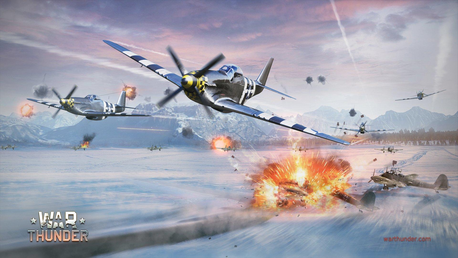 Обои Ме-410, war thunder, Самолёт, истребитель, война, Облака. Игры foto 10