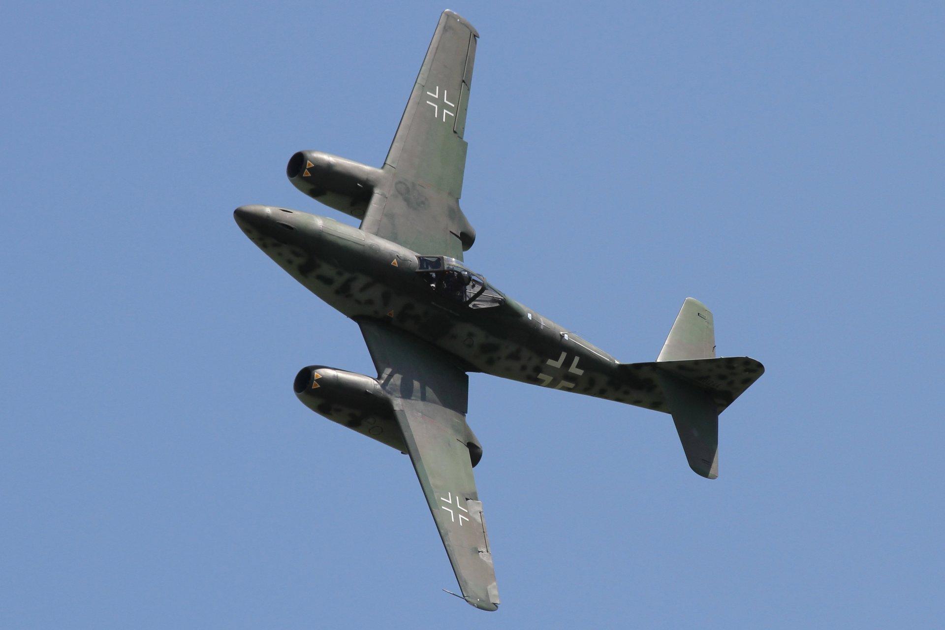 Обои реактивный, me.262, истребитель, бомбардировщик. Авиация foto 14