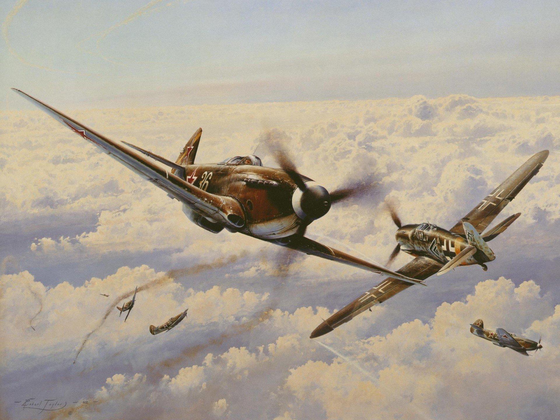 Обои одномоторный, советский, истребитель, yak-3. Авиация foto 14