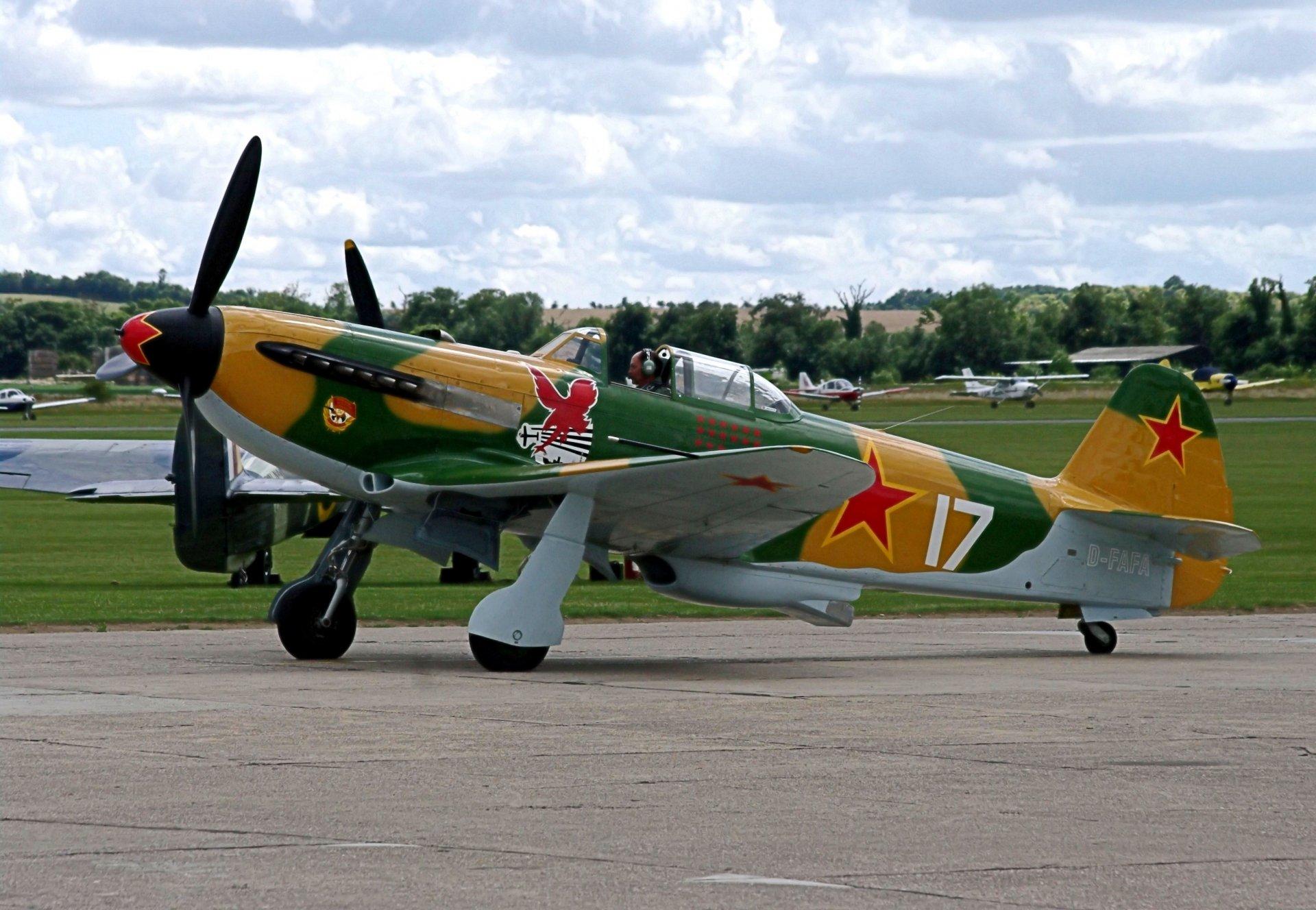 Обои одномоторный, советский, истребитель, yak-3. Авиация foto 13