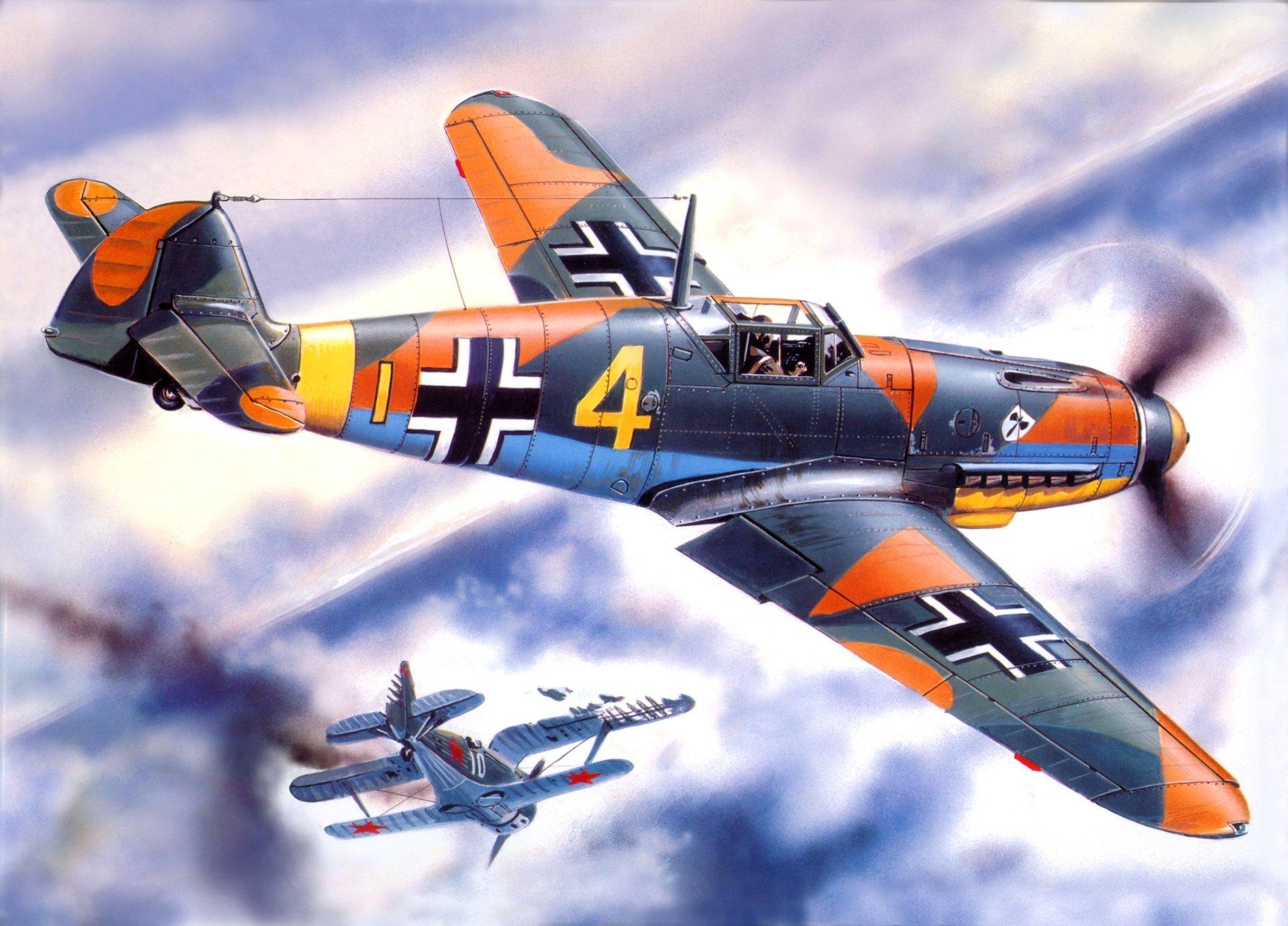 Обои подбитый, советский, самолеты, истребитель. Авиация foto 8