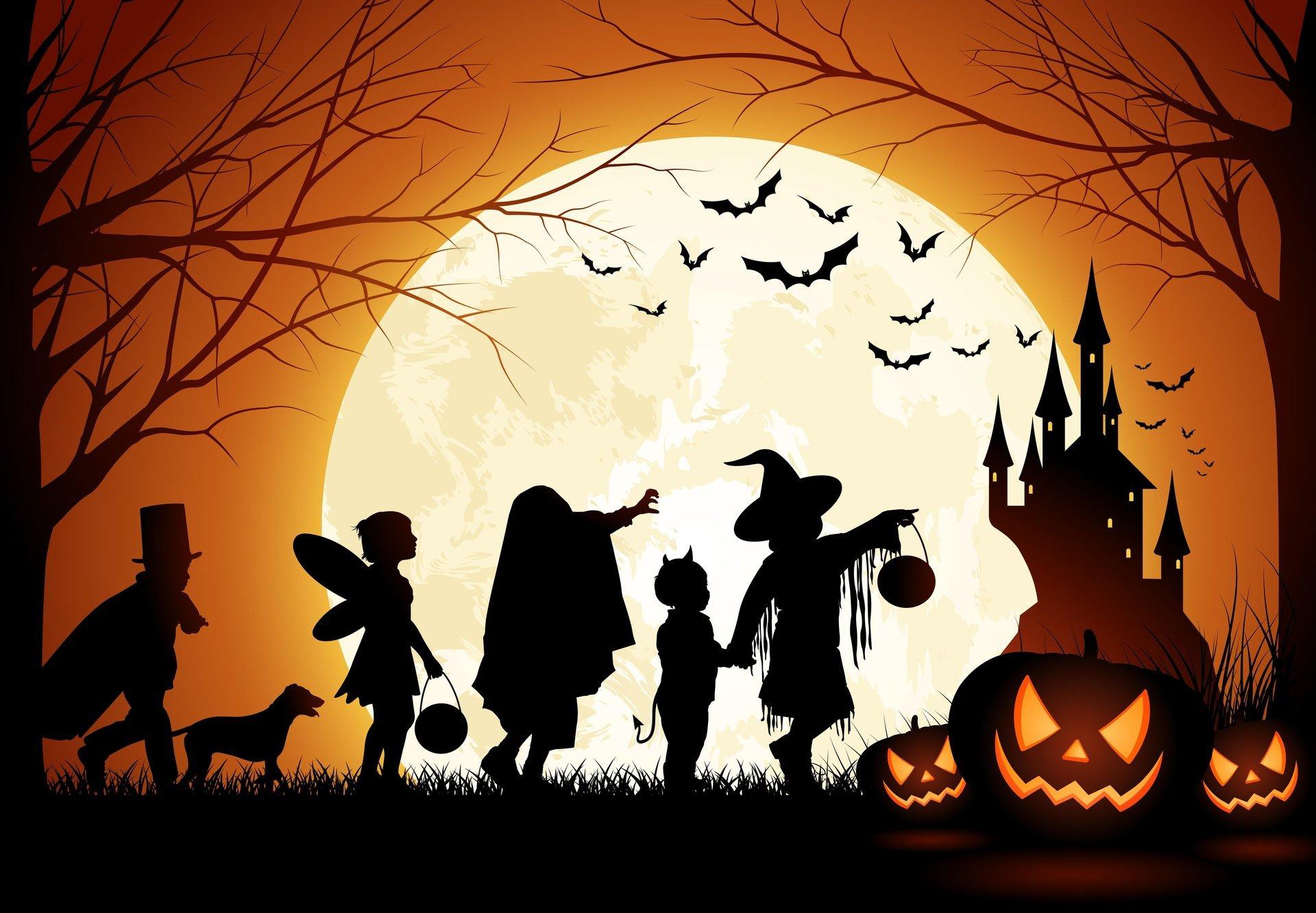картинки на тему хэллоуин кухня мдф эмаль