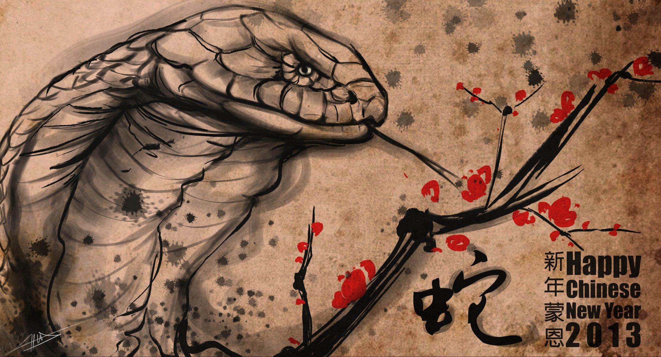 Обои рисунок, картинка, живопись, змей, Фантастика. Разное foto 19