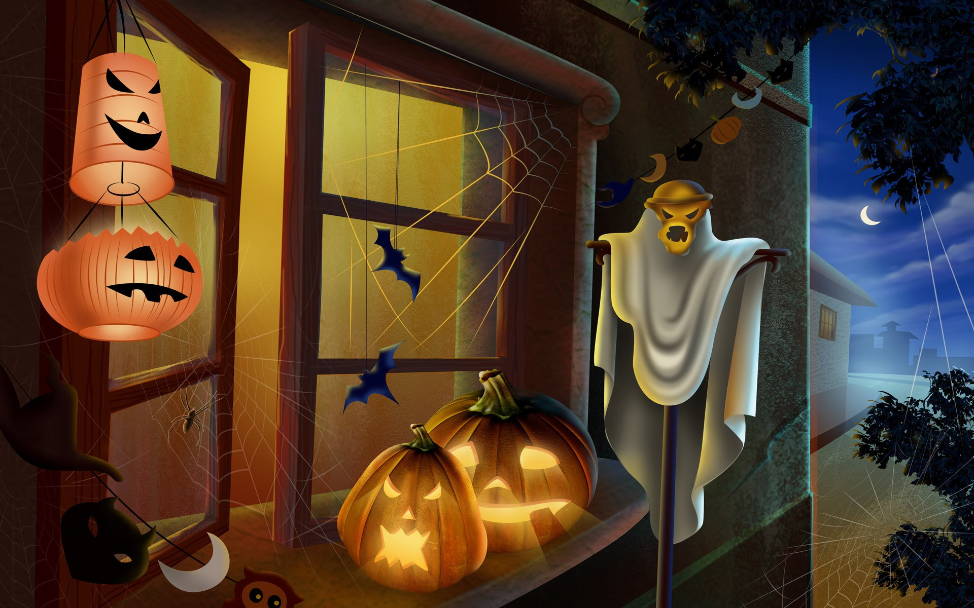 помощи картинки на тему хэллоуин ленивый