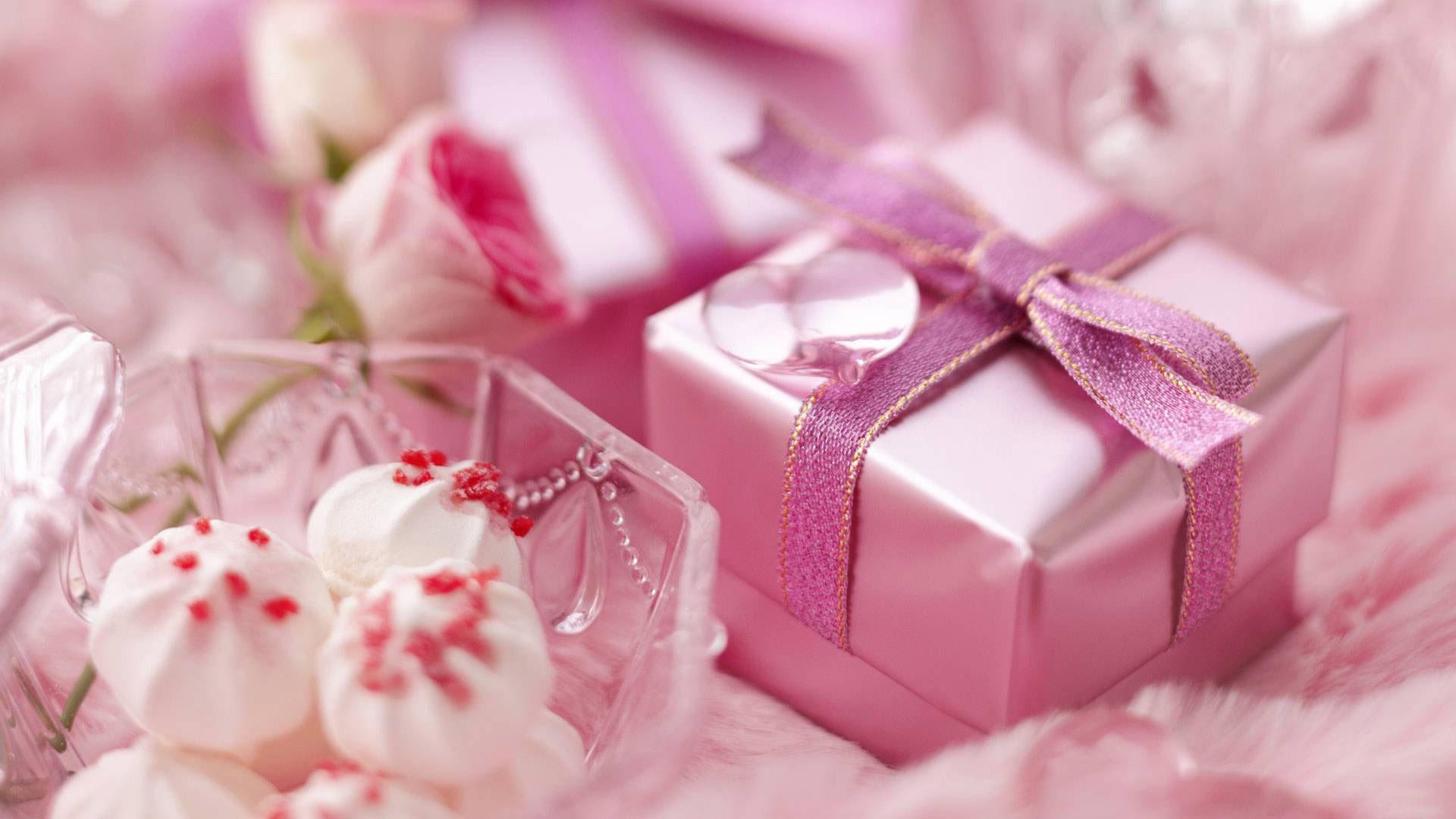 Открытка на рабочий стол с днем рождения для девушки