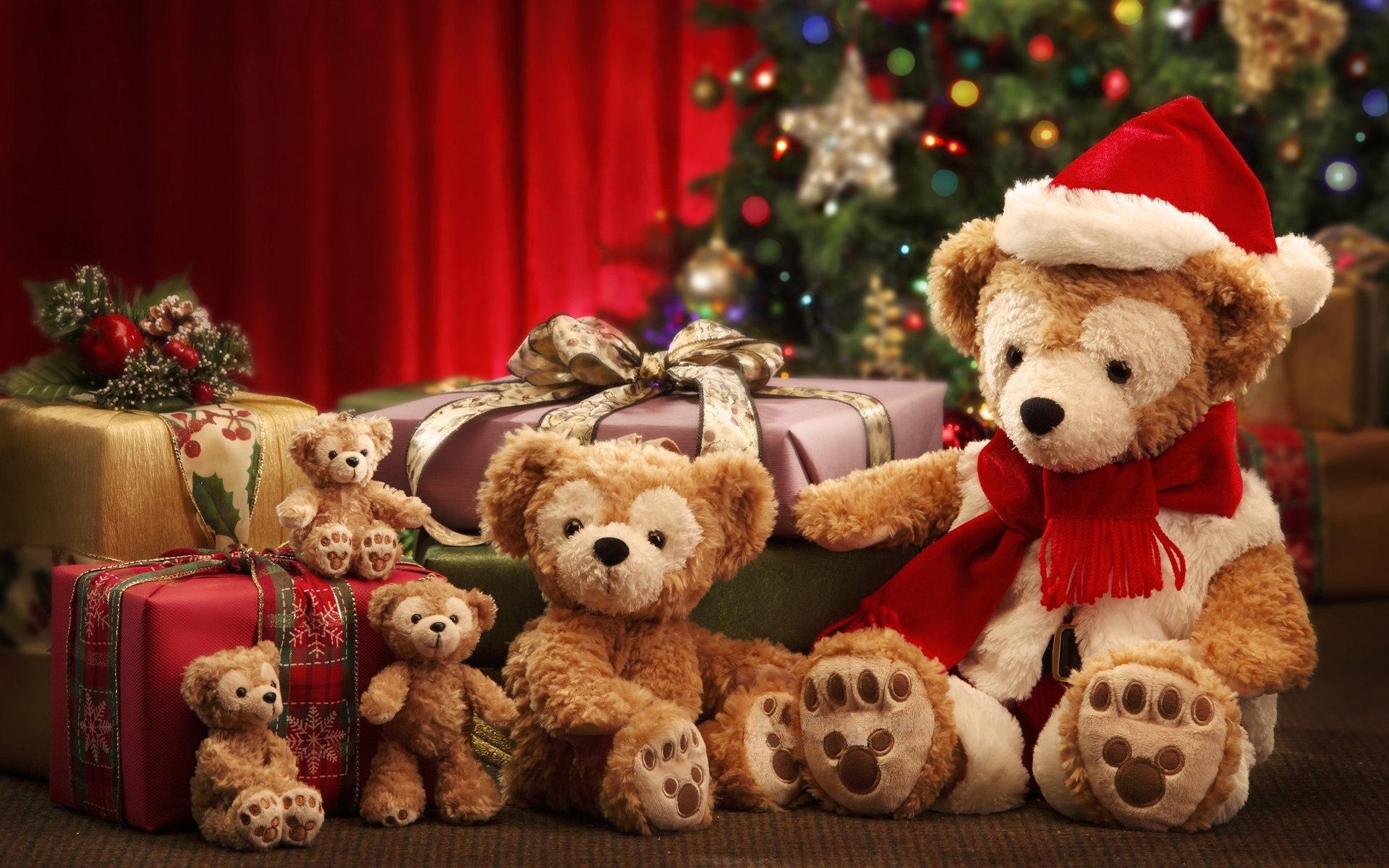 Большие медведи к новому году