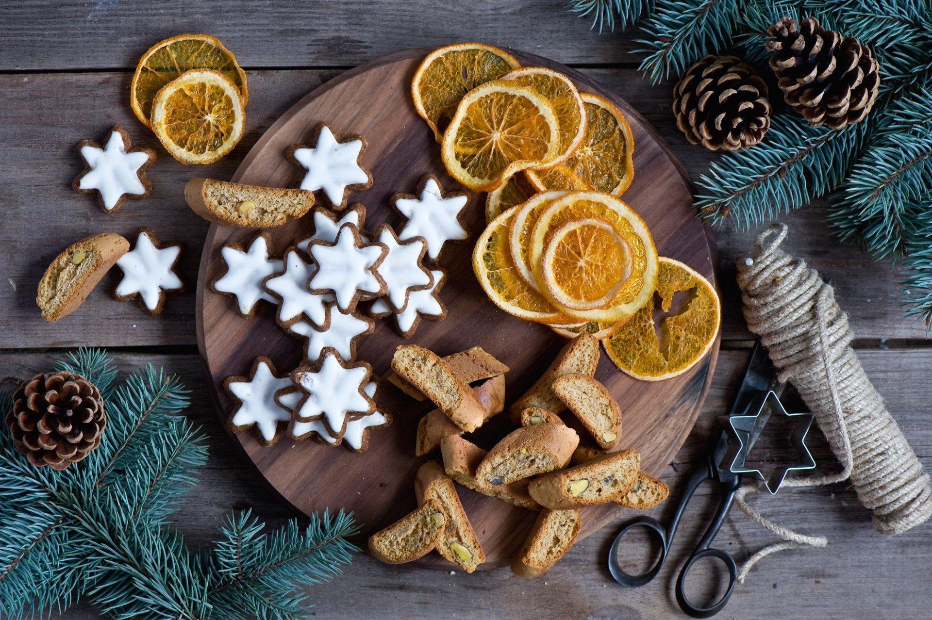 рождественское печенье картинки говорю том