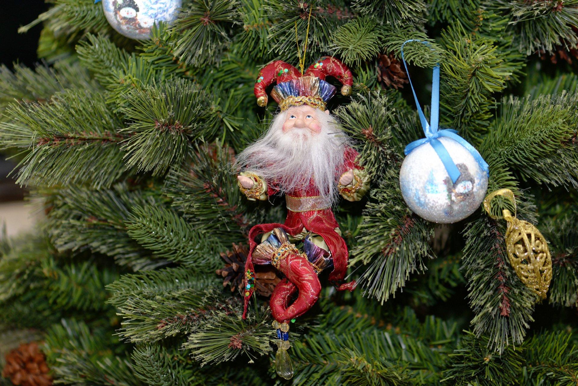 Игрушки на новый год для елки своими руками
