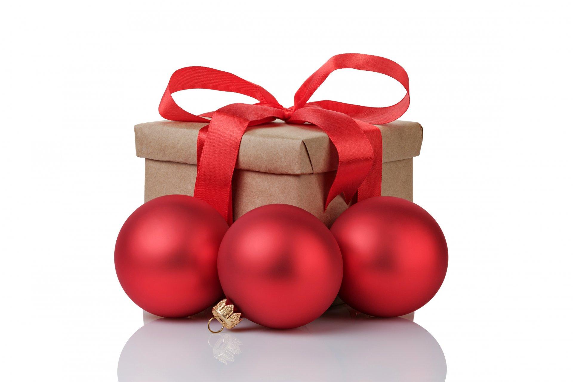 картинки новогодних шаров и подарков ведь