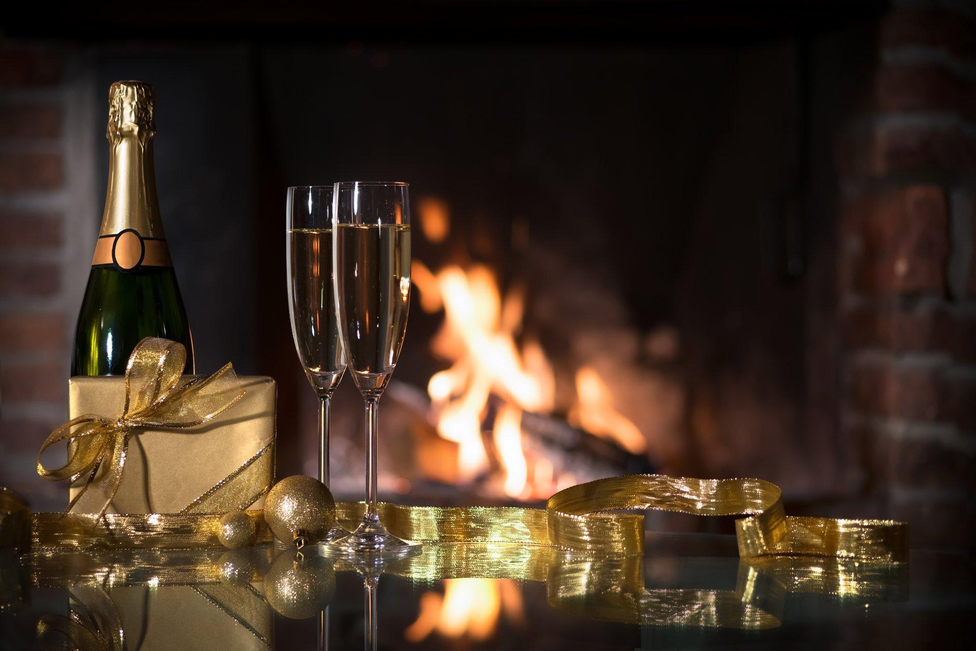 возможно приготовить картинки на рабочий стол шампанское теплый
