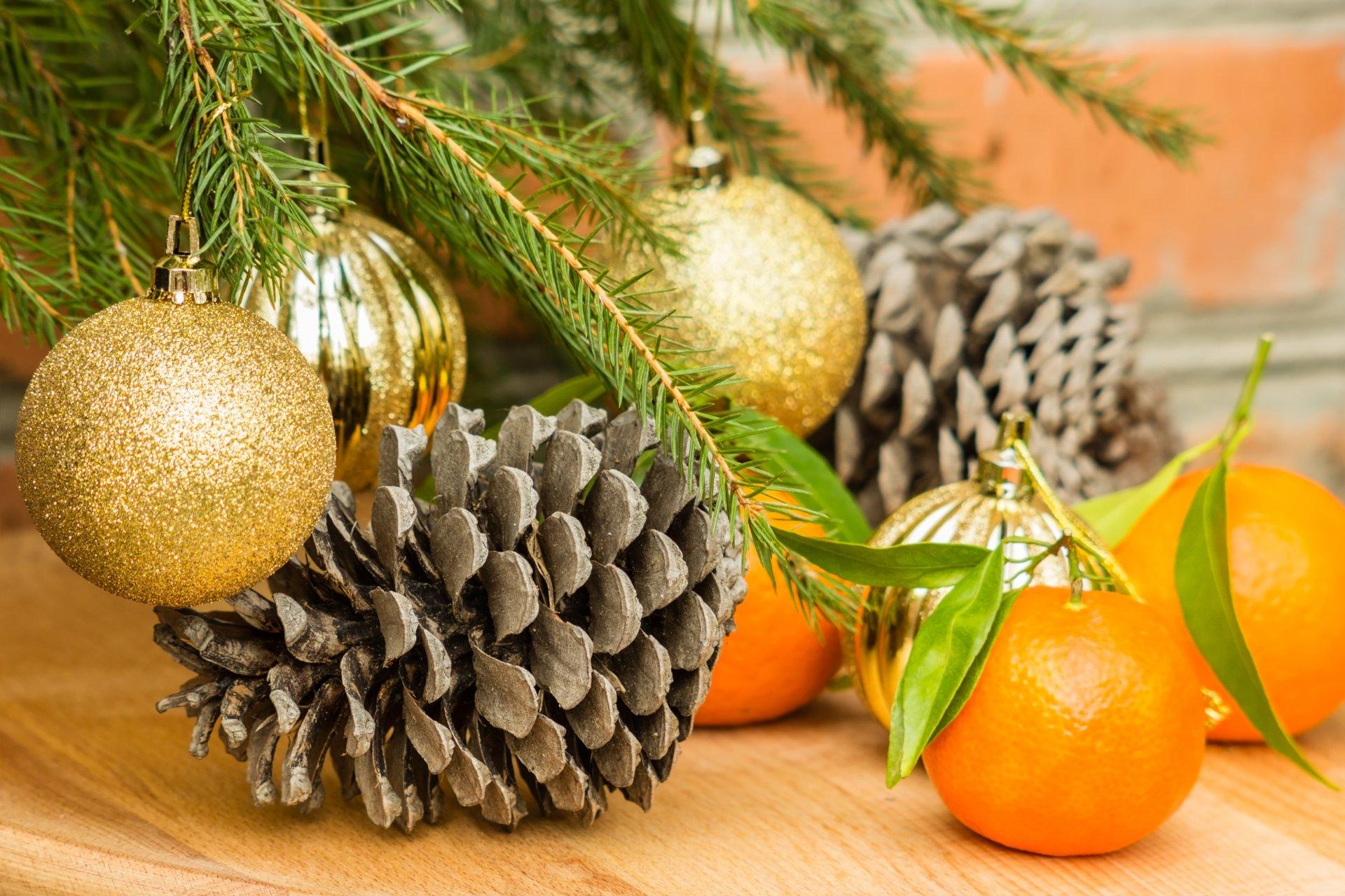 Картинки с мандаринами к новому году, днем