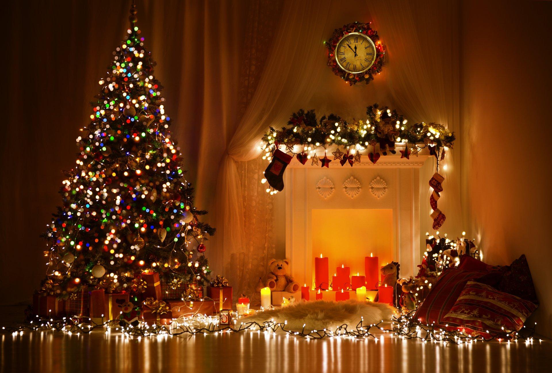 Красивые картинки рождества и нового года