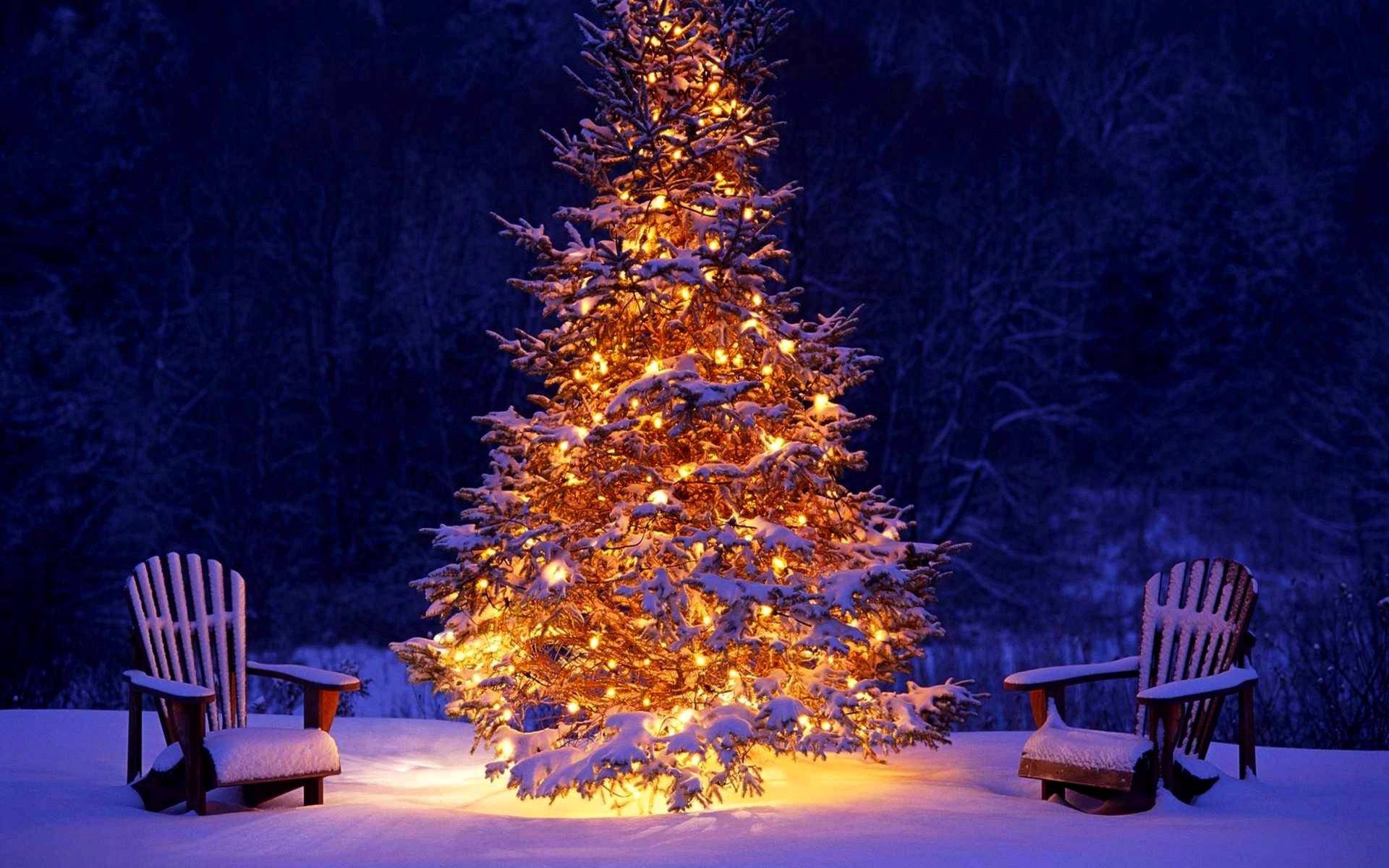 Картинка зима новый год на рабочий стол