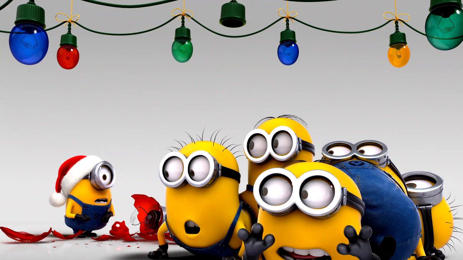 Миньоны сценарий нового года