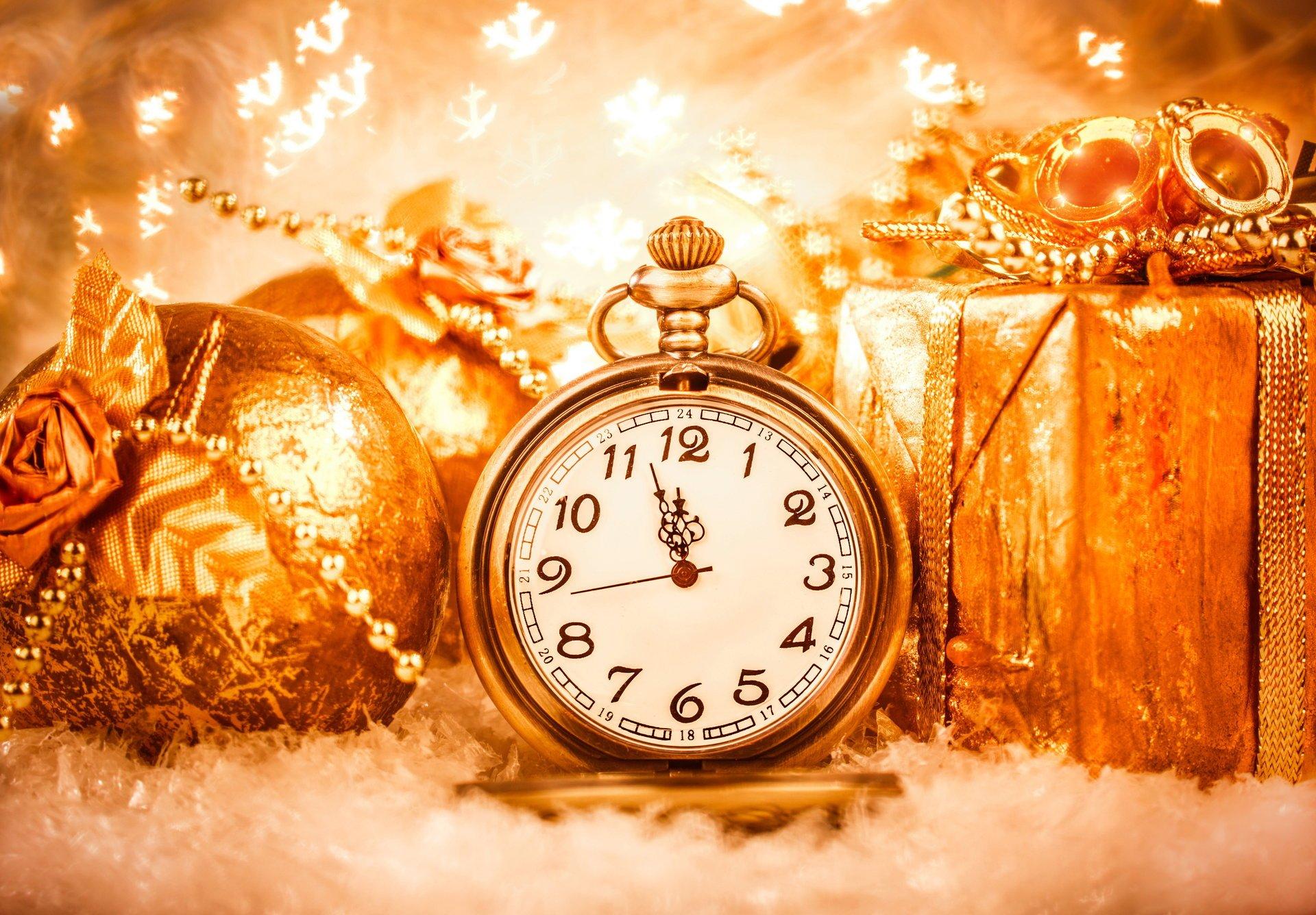 В какое время сегодня новый год