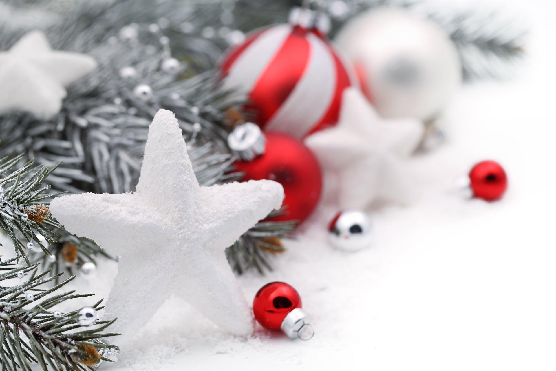Новогодние обои для рабочего стола зима