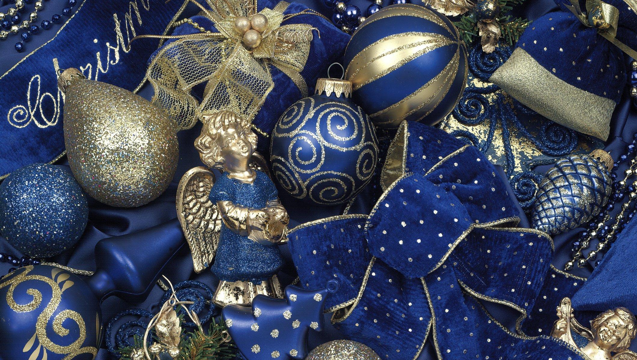 Картинками днем, картинки с новым годом в синем цвете