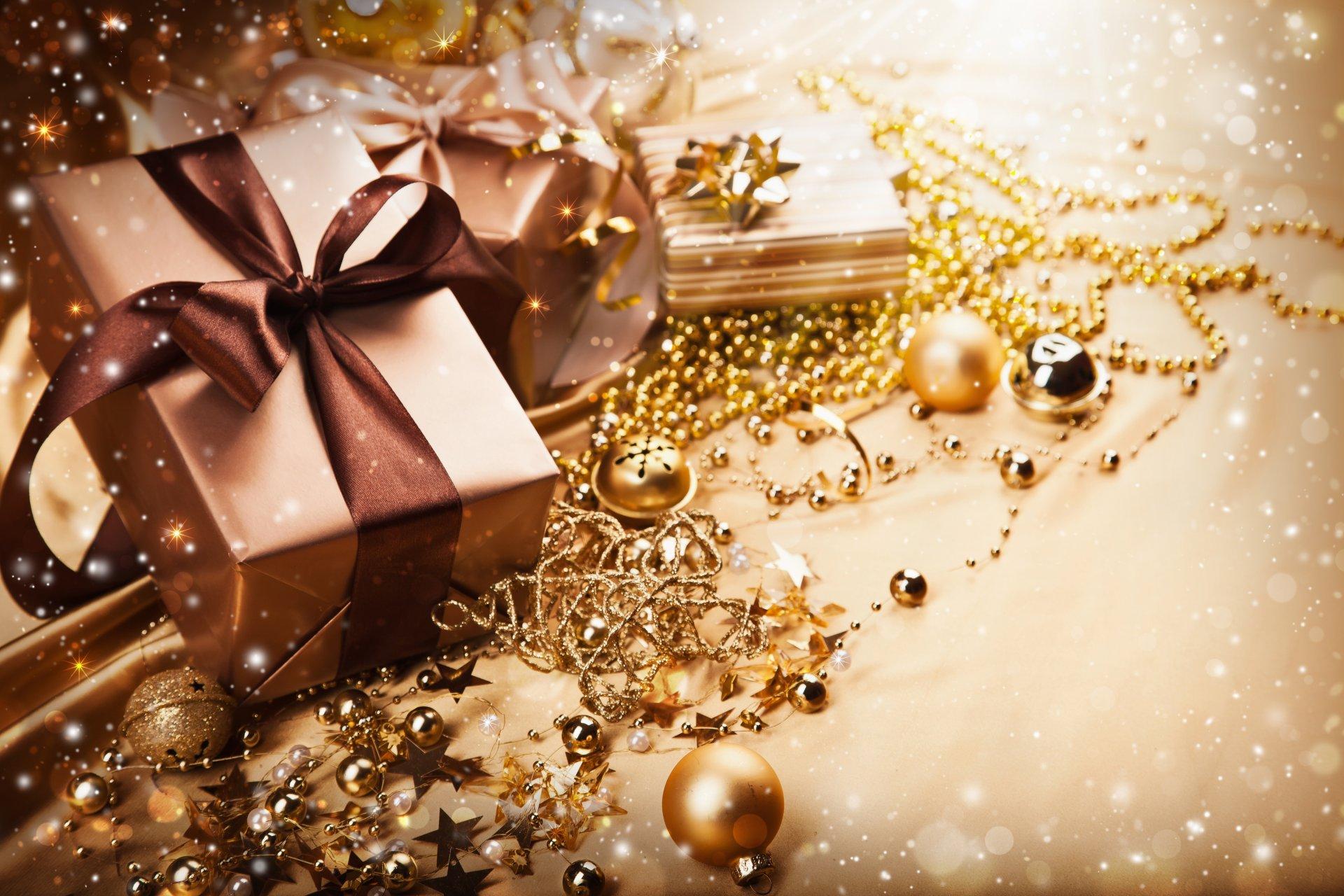с новым годом открытка коричневая