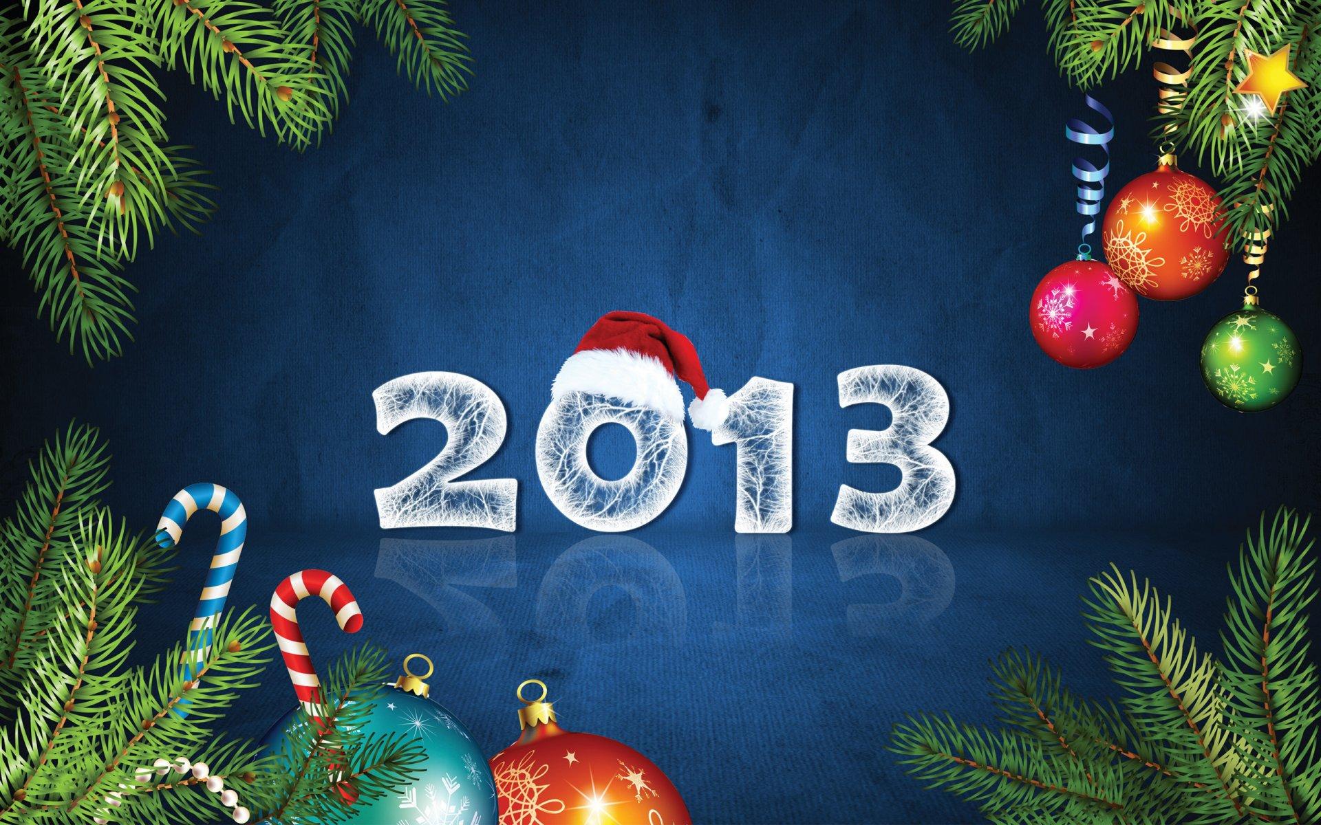 Открытка новый 2013