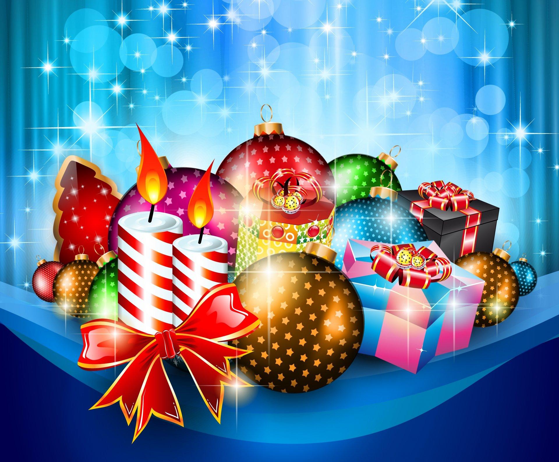 Праздник новый год Holiday new year скачать