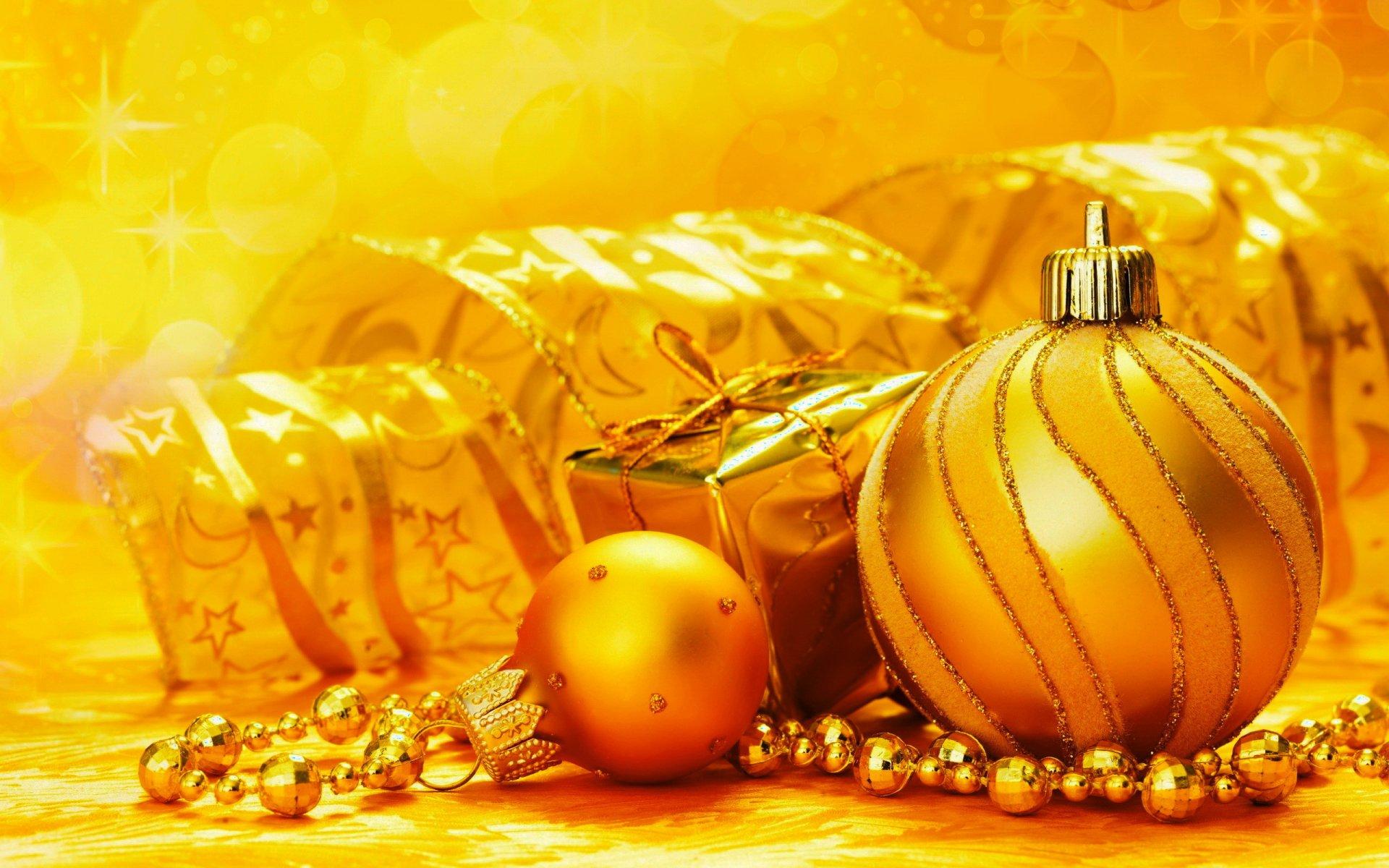 Открытки с новым годом в золоте