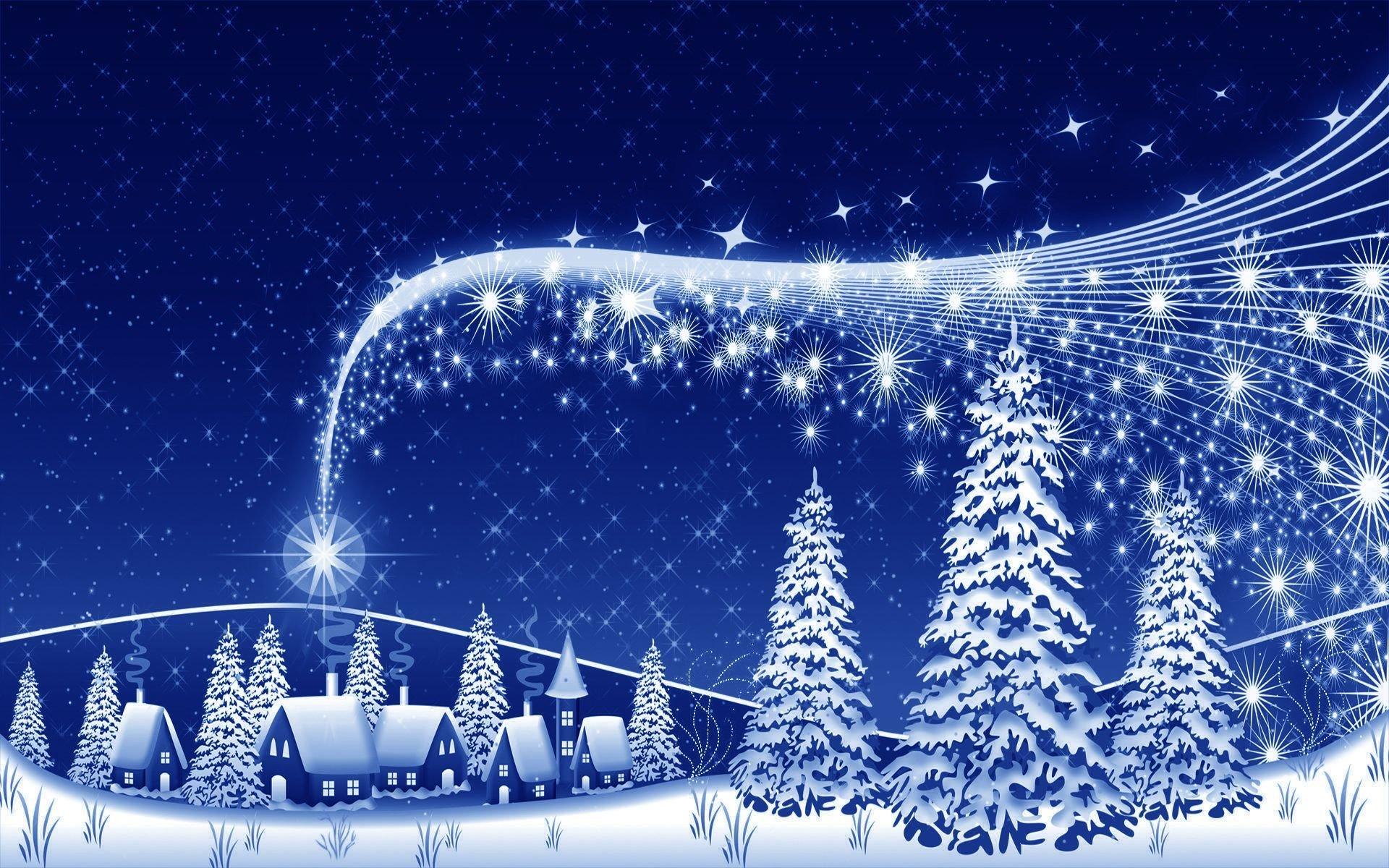 Красивая открытки с новым годом и рождеством 2017
