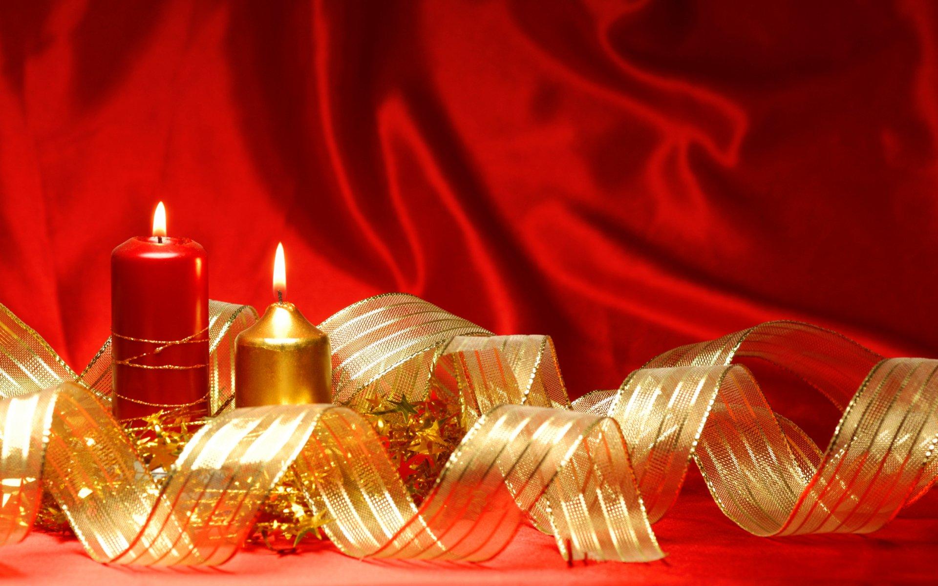 Свечи новый год  № 1395187 без смс