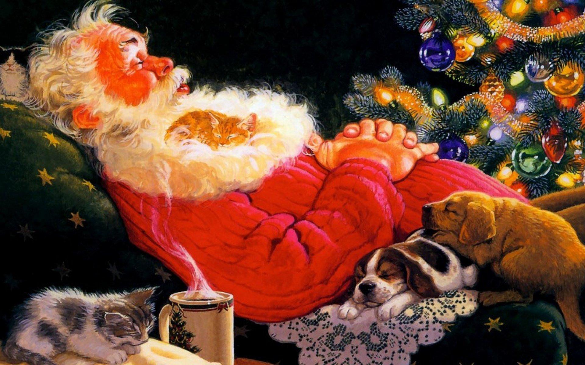 После новогодней ночи картинки