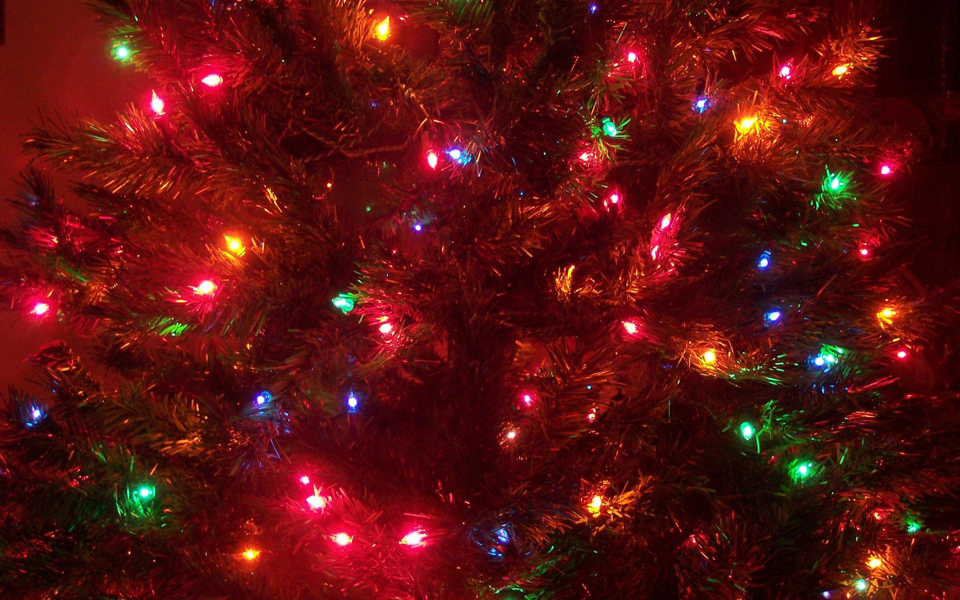 елка,шары,огоньки  № 340821 бесплатно