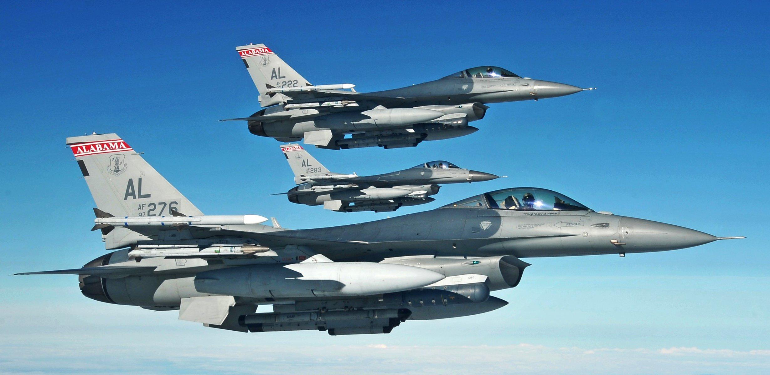 Обои fighting falcon, general dynamics, истребитель. Авиация foto 19