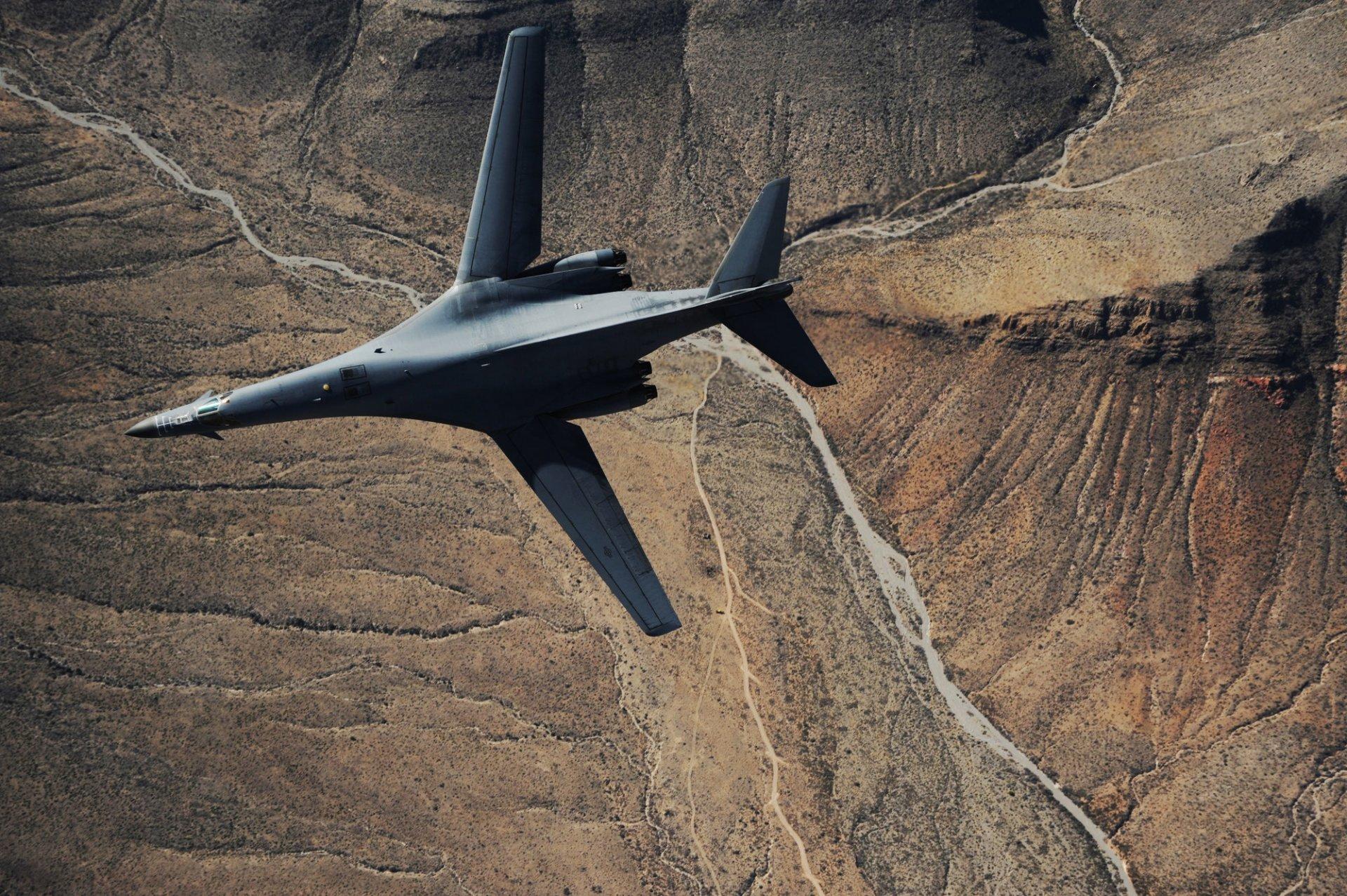 Обои сверхзвуковой, B-1b, стратегический. Авиация foto 15