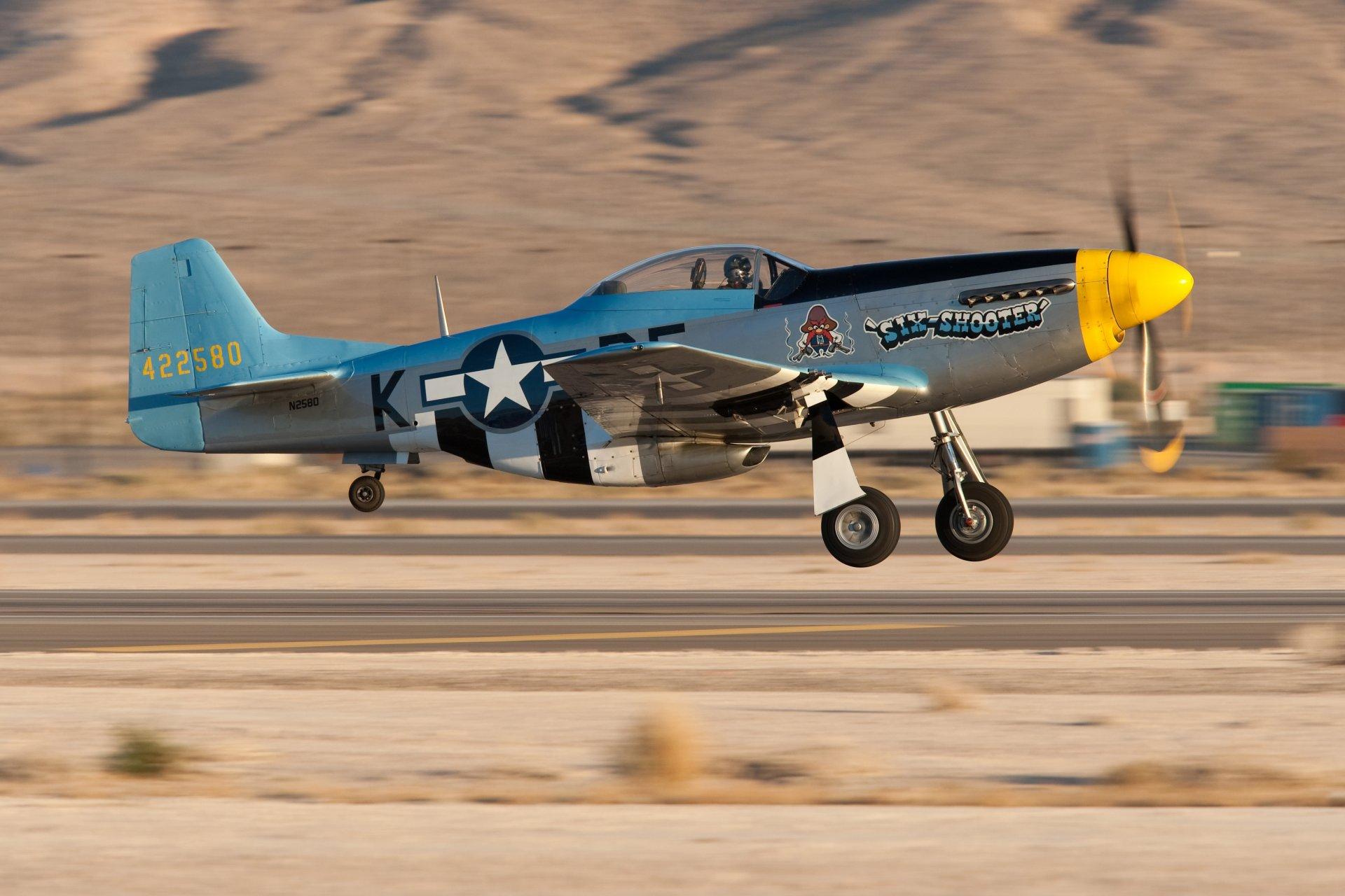 Обои дальний, одноместный, P-51c mustang, американский. Авиация foto 18