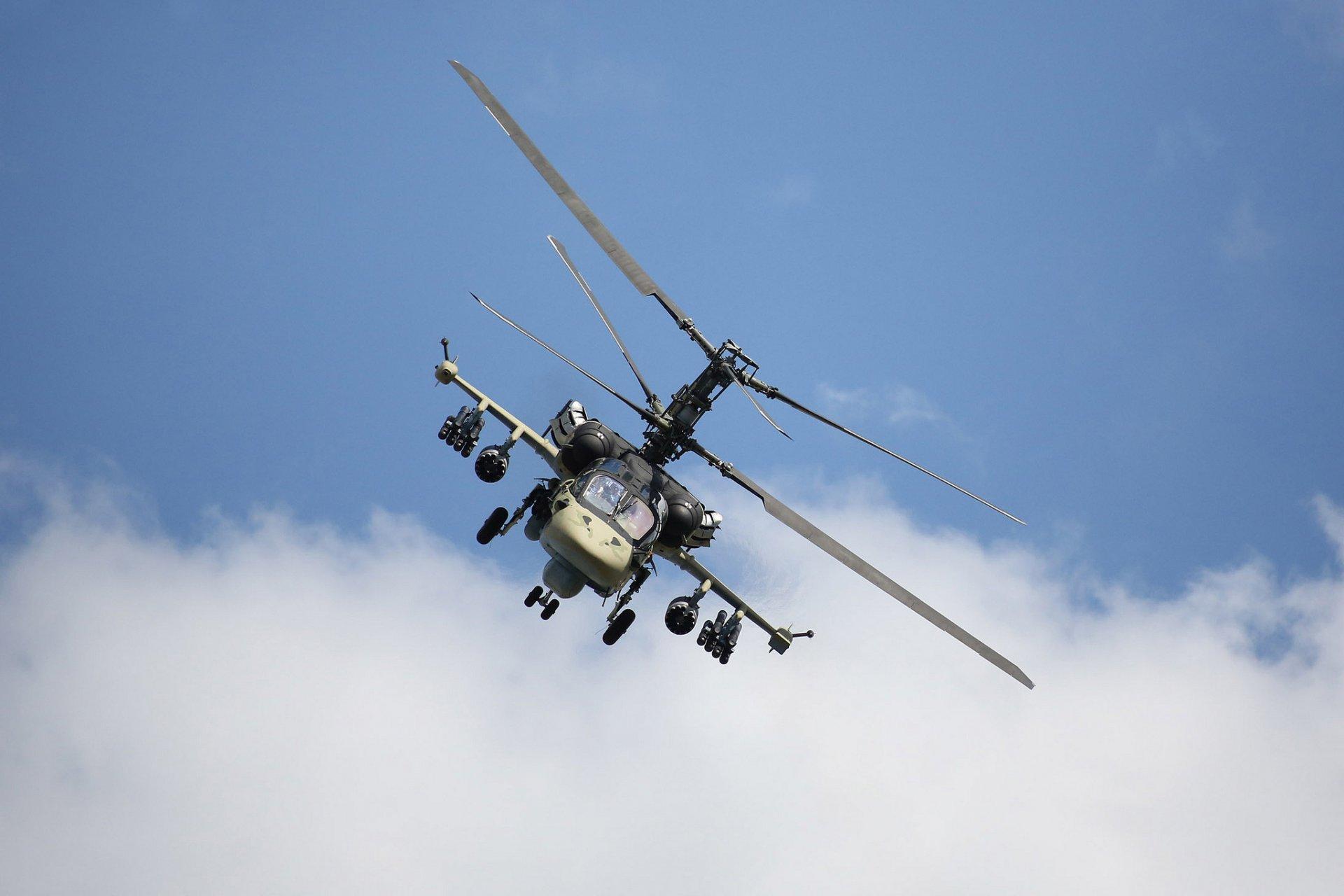 Обои ударный, российский, «аллигатор», Ка-52. Авиация foto 13