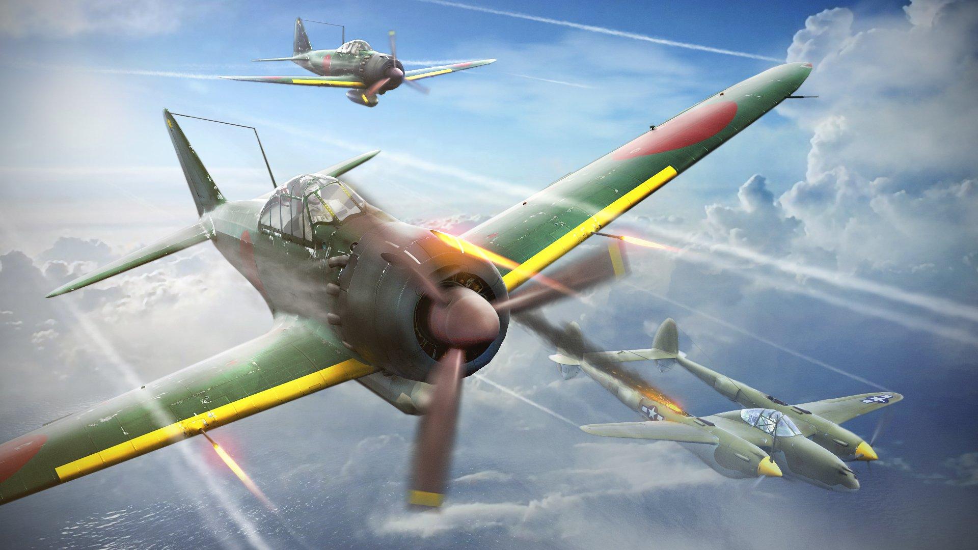Обои локхид p-38, самолеты, американские. Авиация foto 7