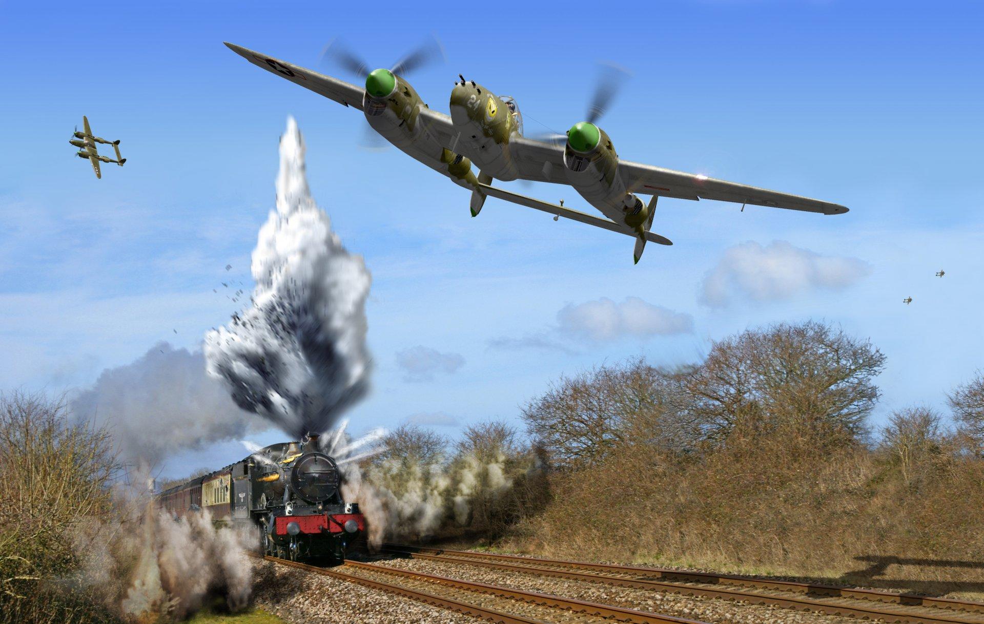 Обои локхид p-38, самолеты, американские. Авиация foto 16