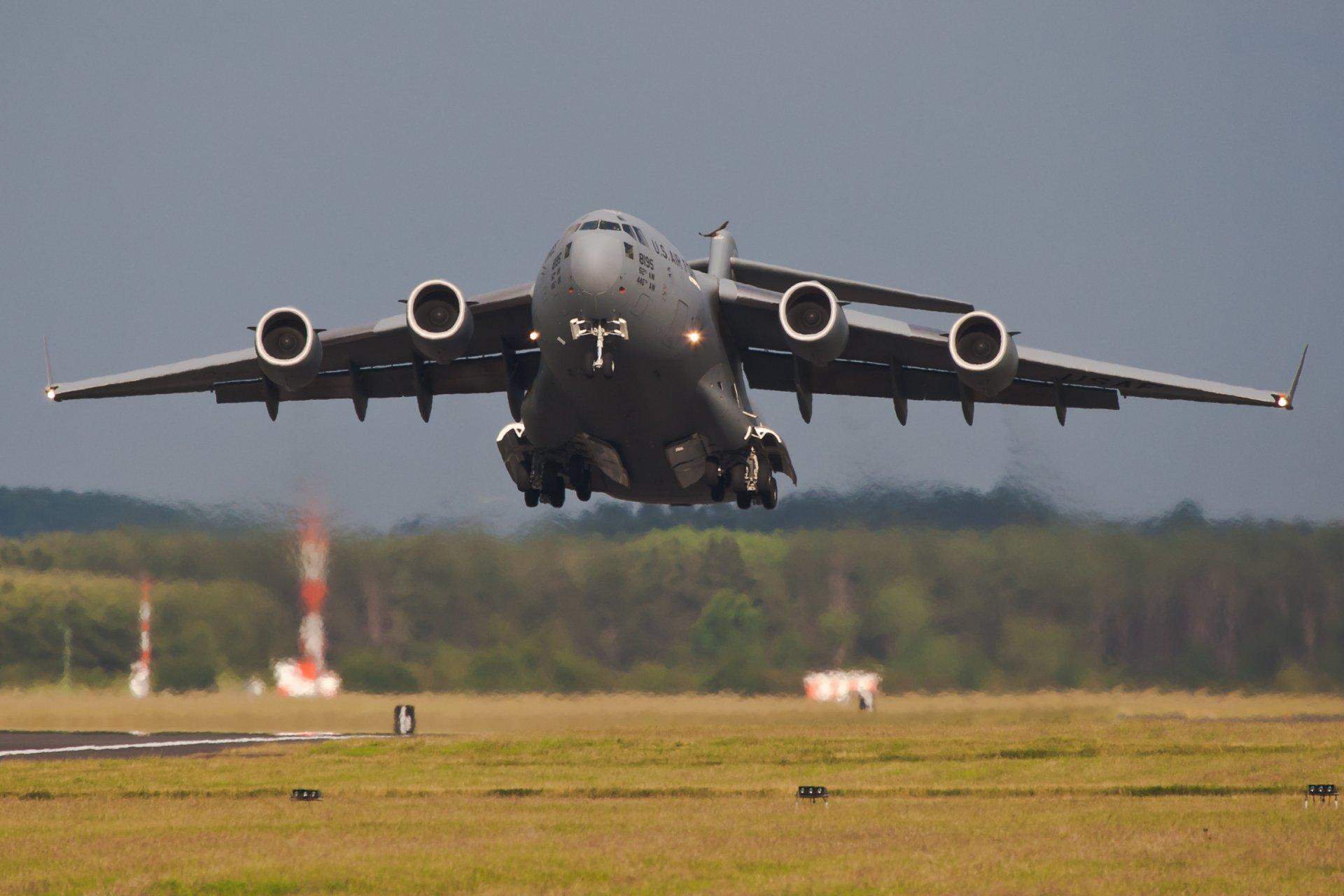 Обои самолеты, c-17 globemaster. Авиация foto 15