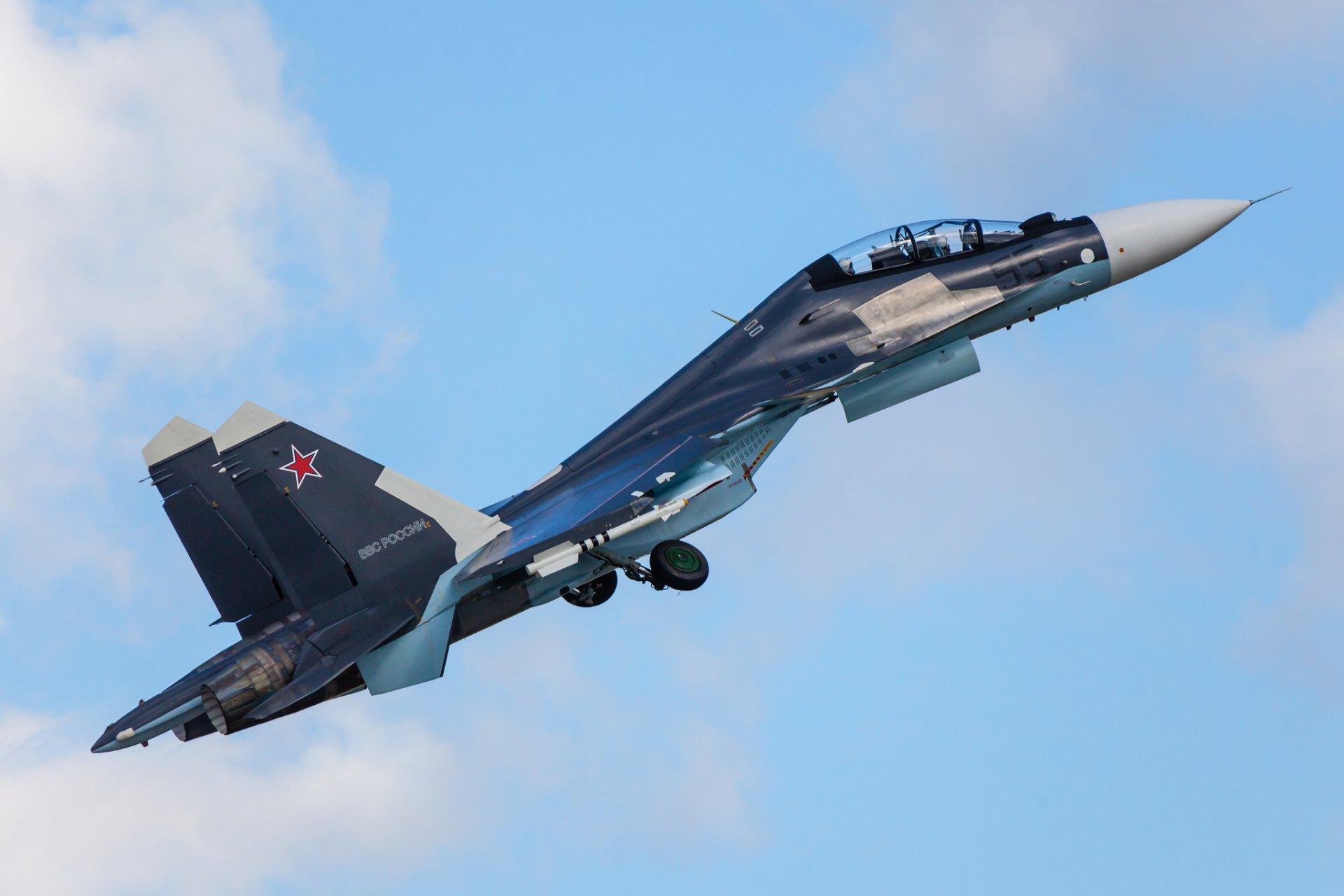 Обои российский, Су-30см, двухместный, многоцелевой. Авиация foto 14