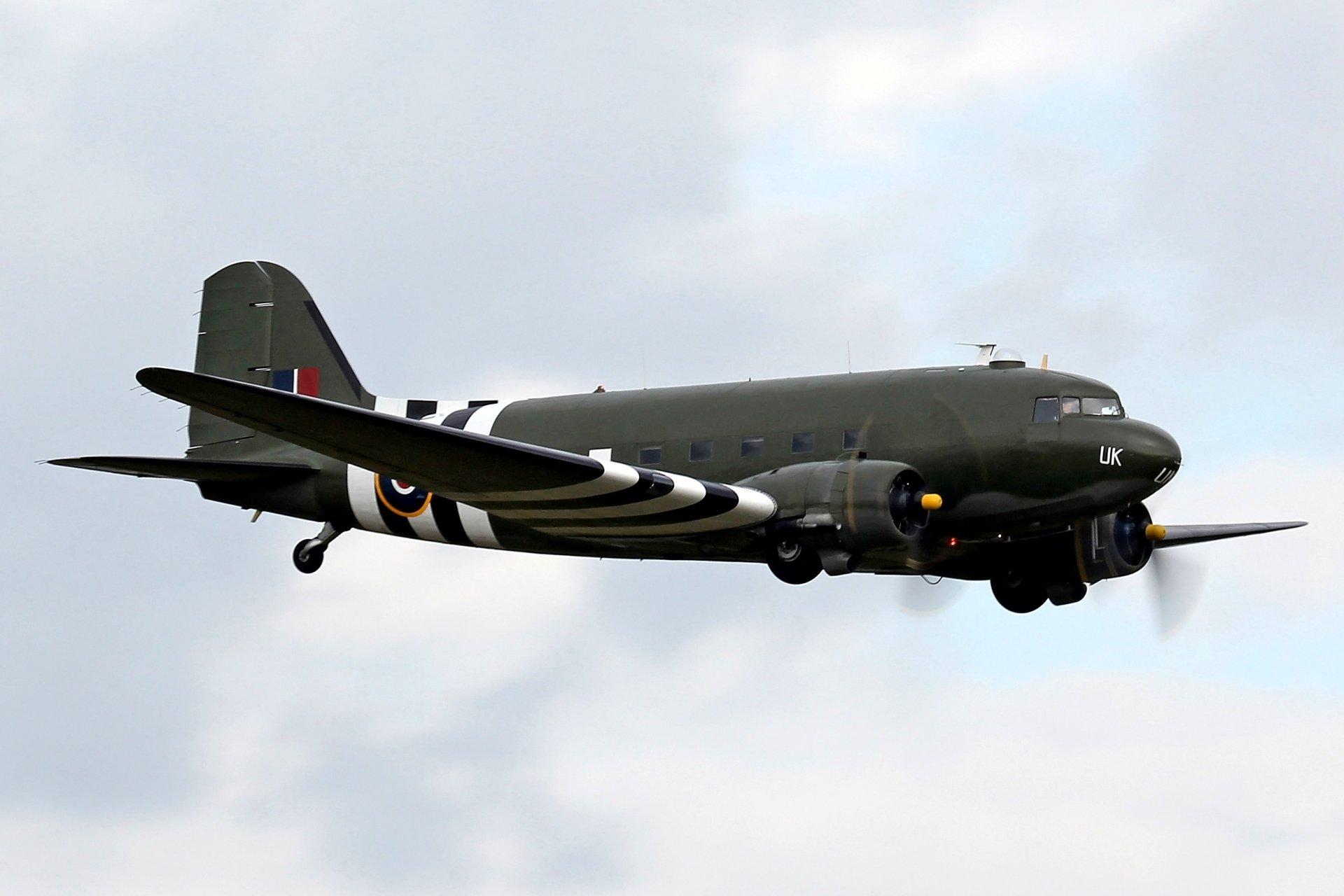 Обои Дуглас c-47, американский. Авиация foto 11